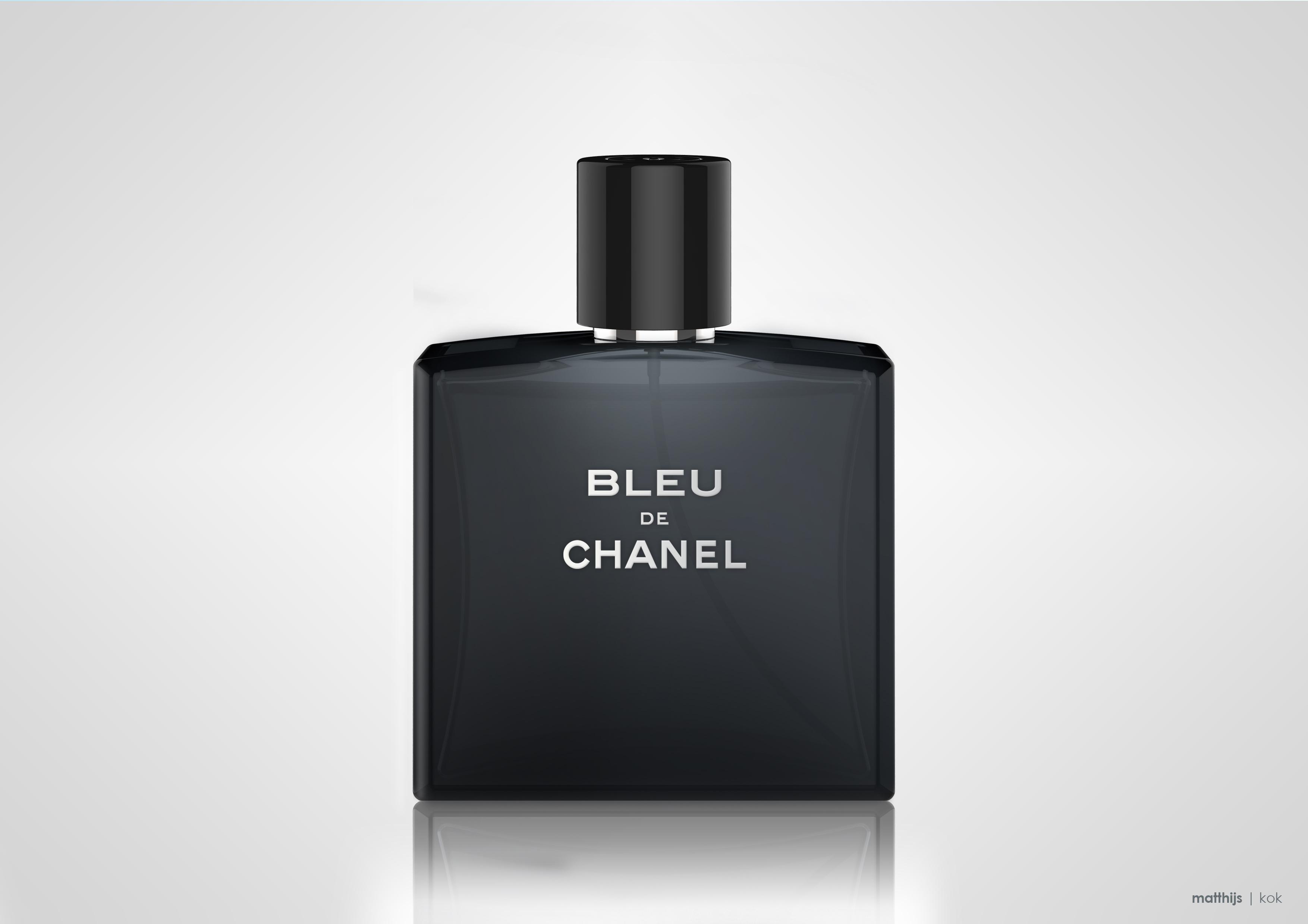 Bleu de Chanel | Rendering by Matthijs Kok