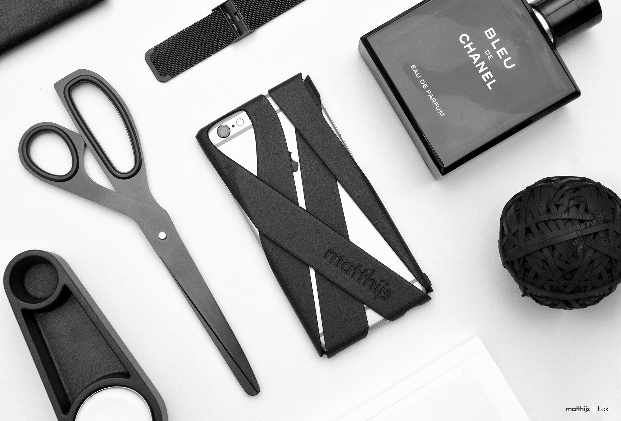 Freshfiber Wrap Case Flatlay | Photo by Matthijs Kok