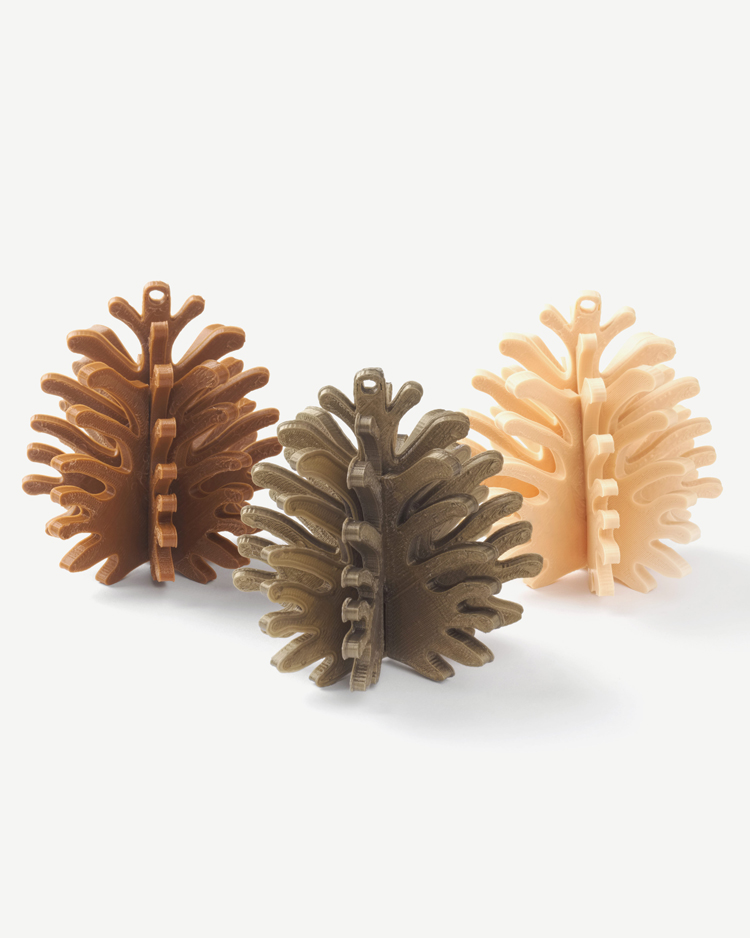 Cubify Pinecone 3D Puzzles by Matthijs Kok