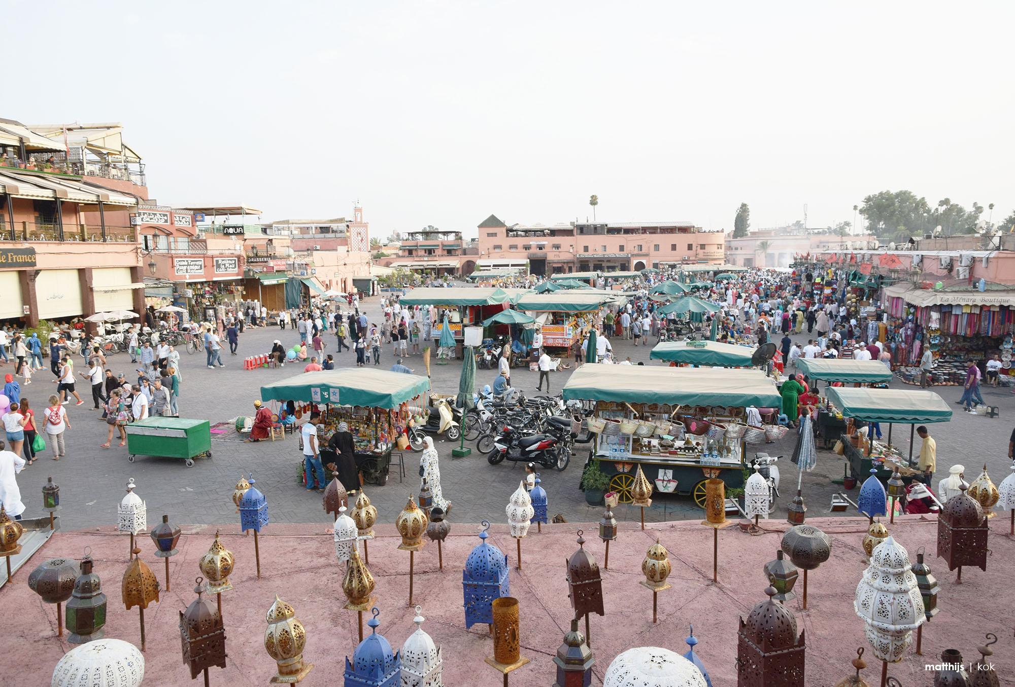 Djemaa el Fna, Marrakech | Photo by Matthijs Kok
