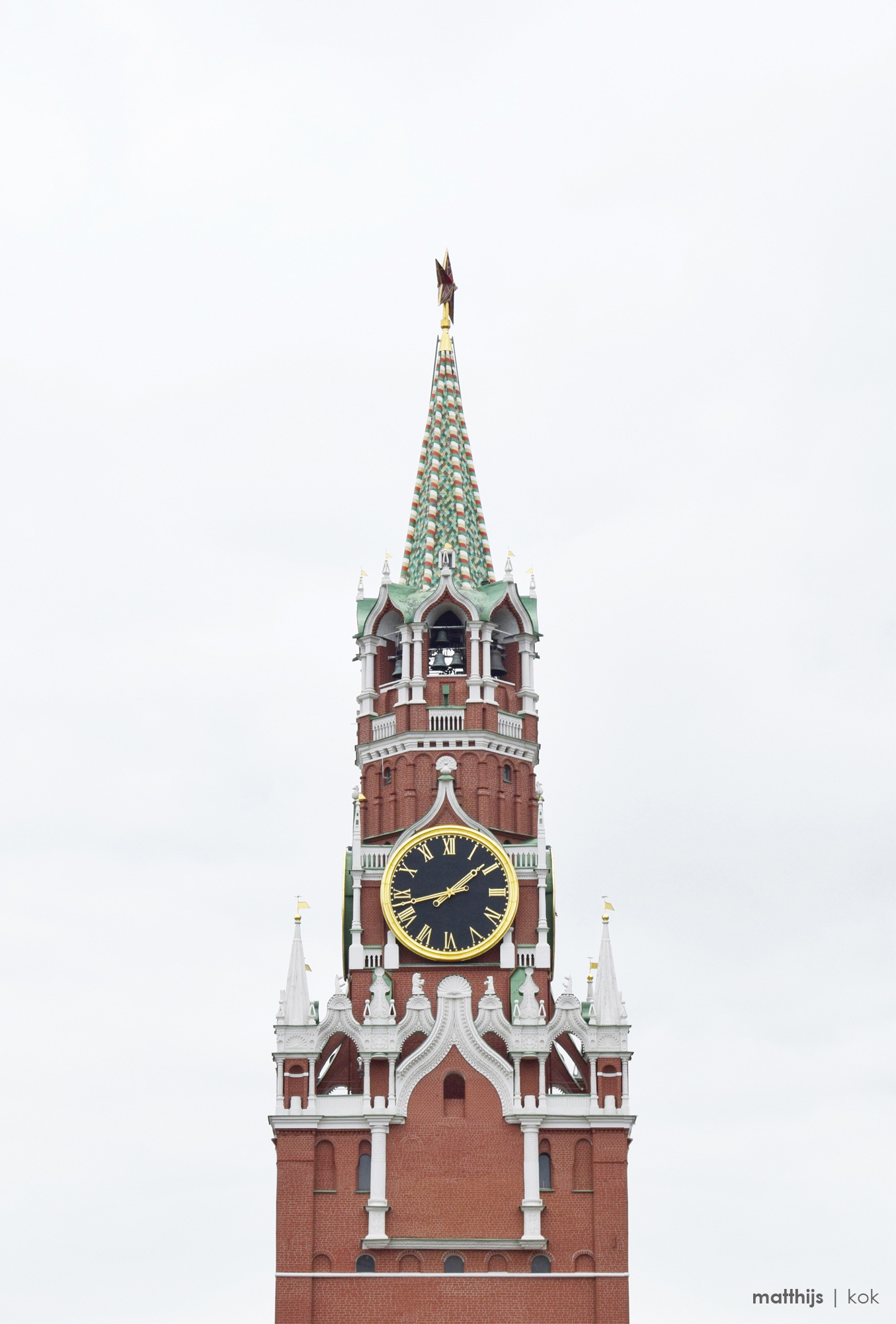 Spasskaya Tower, Moscow | Photo by Matthijs Kok