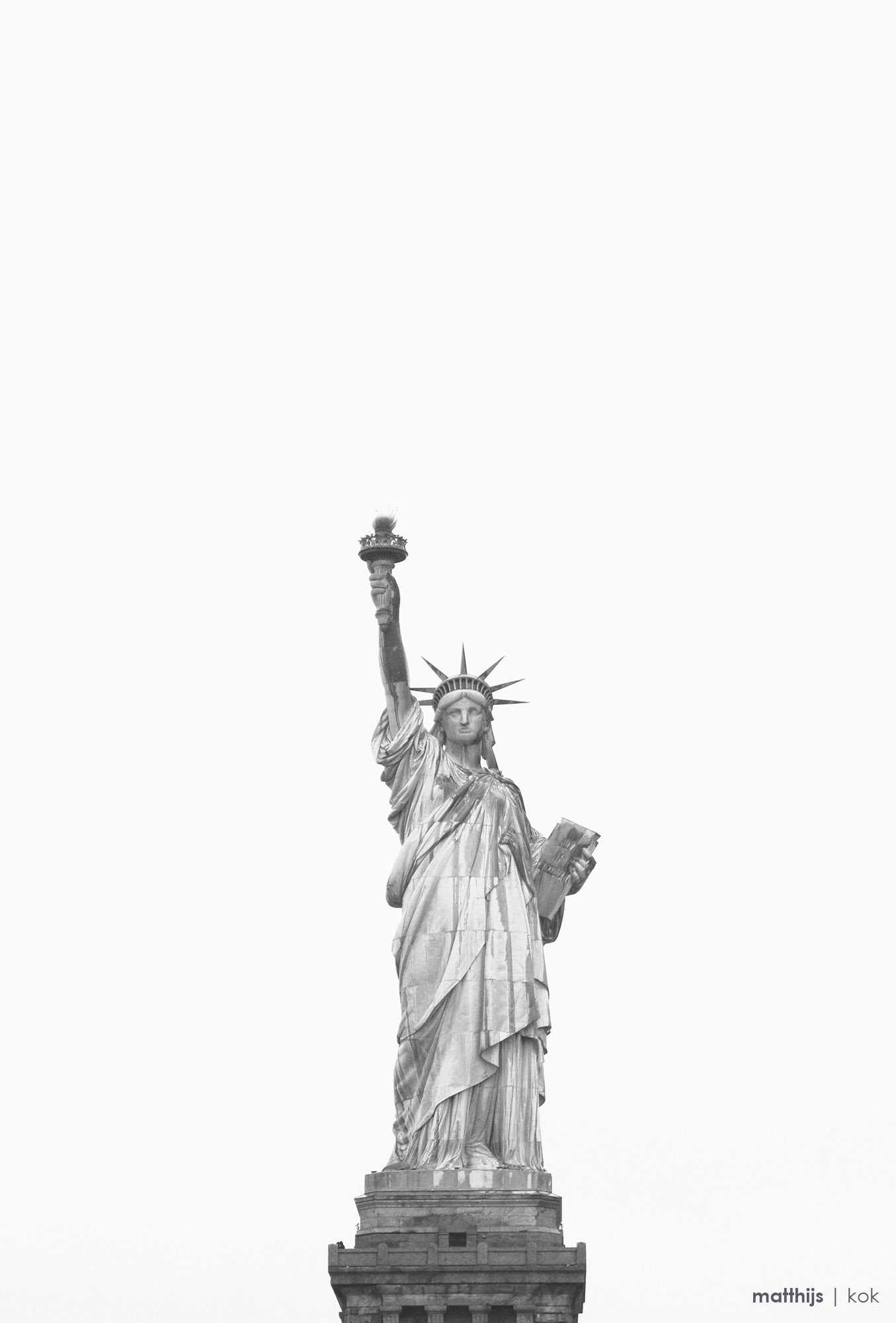 Statue of Liberty, New York | Photo by Matthijs Kok