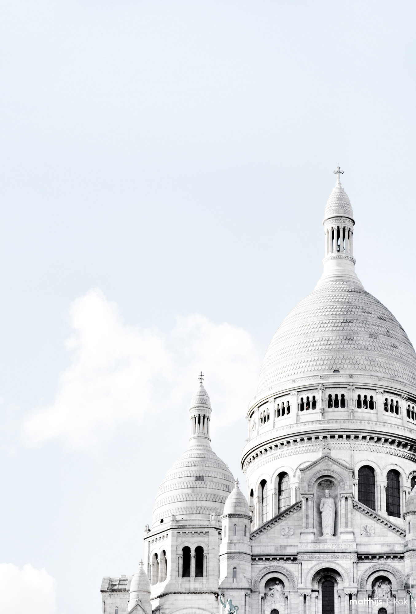 Sacré Coeur, Paris | Photo by Matthijs Kok