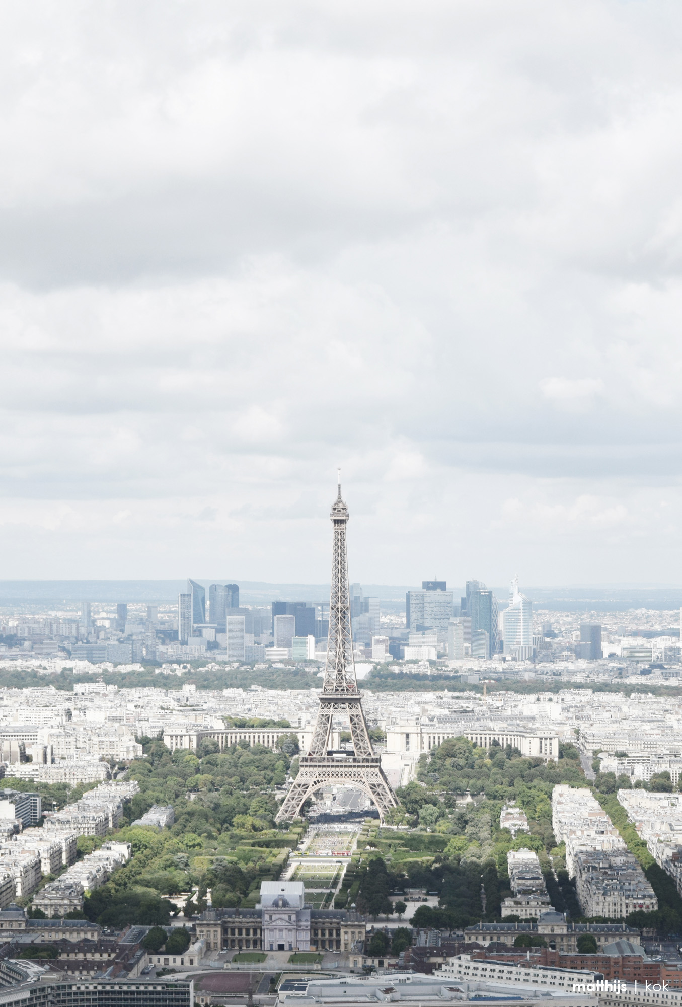 View from the Tour Montparnasse, Paris | Photo by Matthijs Kok