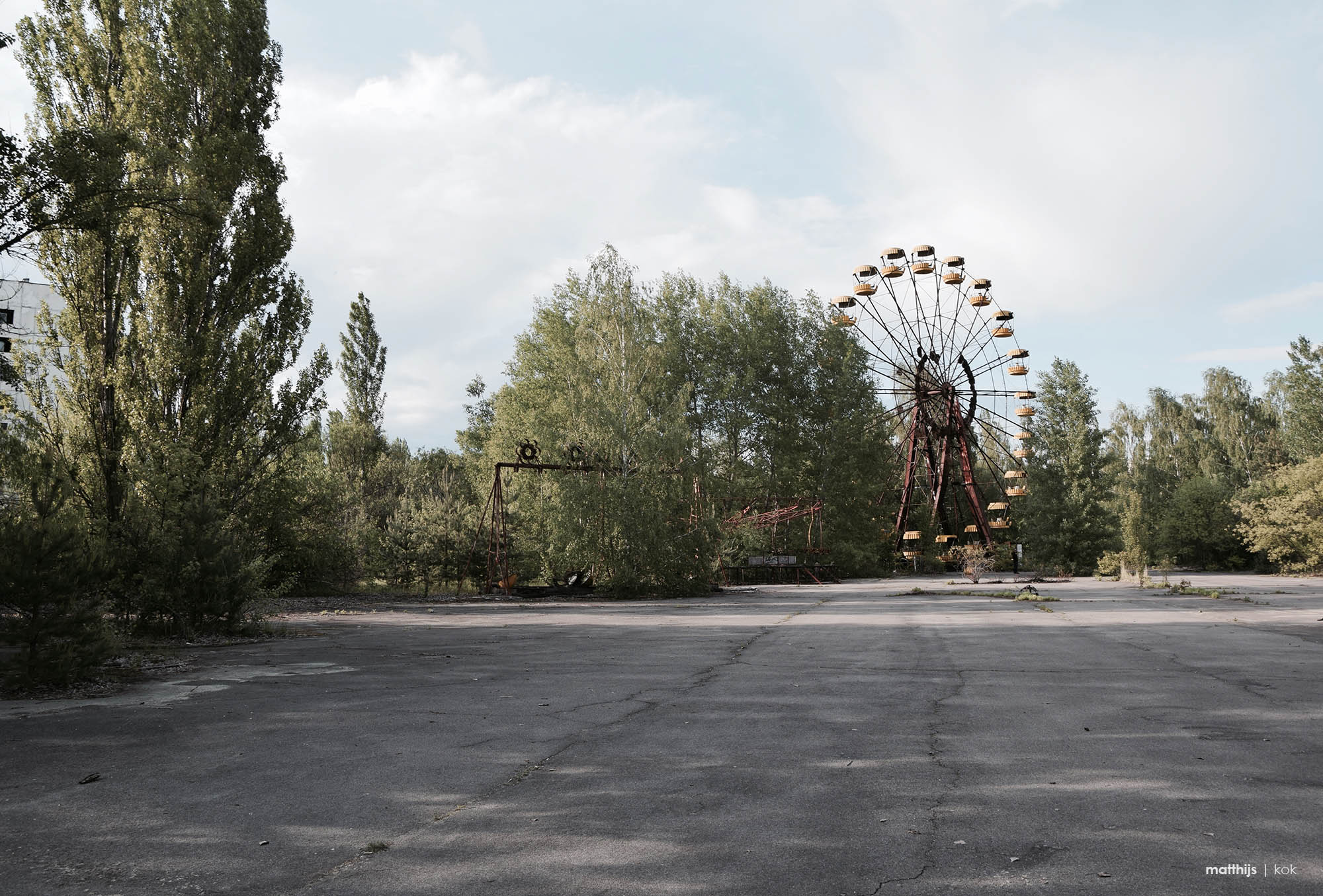 Pripyat Amusement Park, Chernobyl | Photo by Matthijs Kok