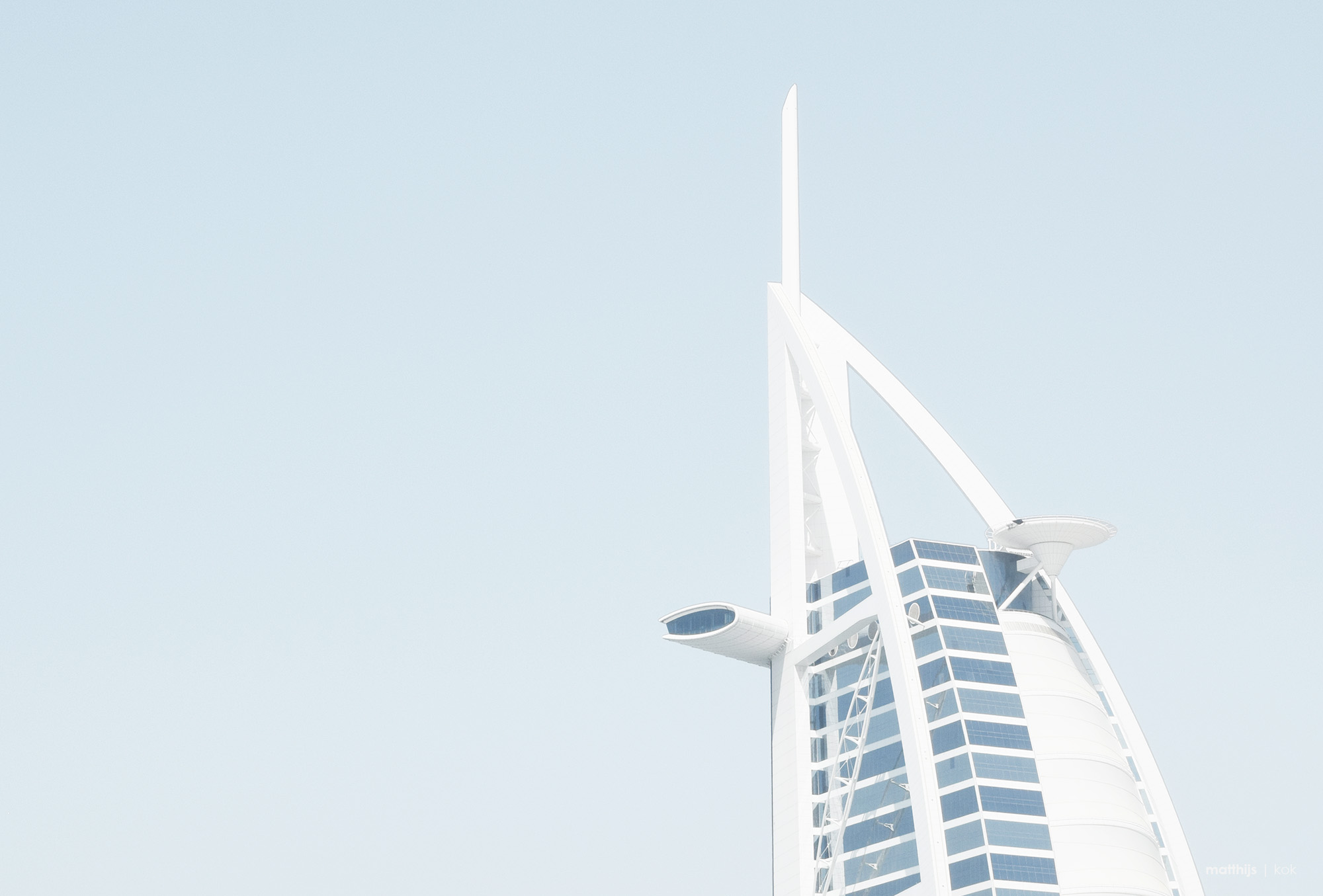 Burj al Arab‎, Dubai, UAE | Photo by Matthijs Kok