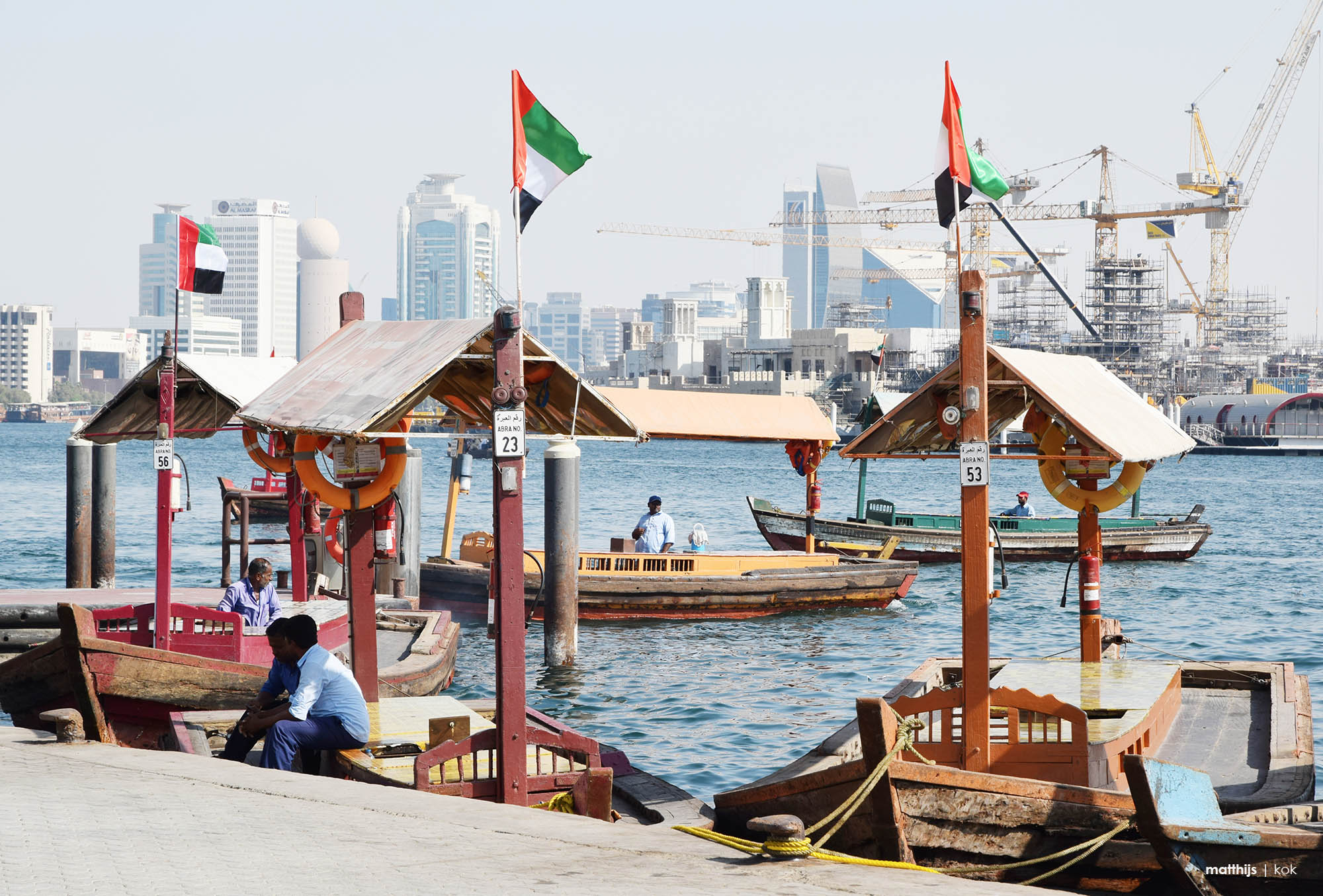 Deira, Dubai, UAE | Photo by Matthijs Kok