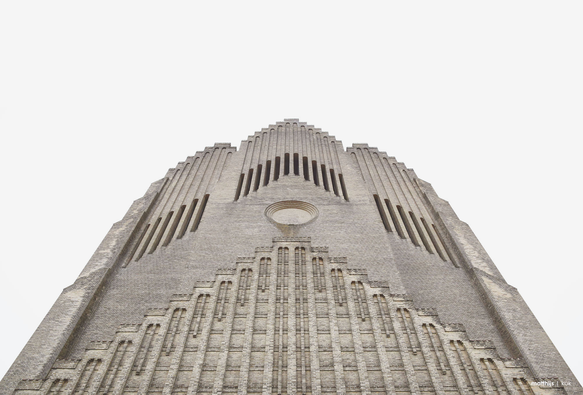 Grundtvig's Church, Copenhagen, Denmark | Photo by Matthijs Kok