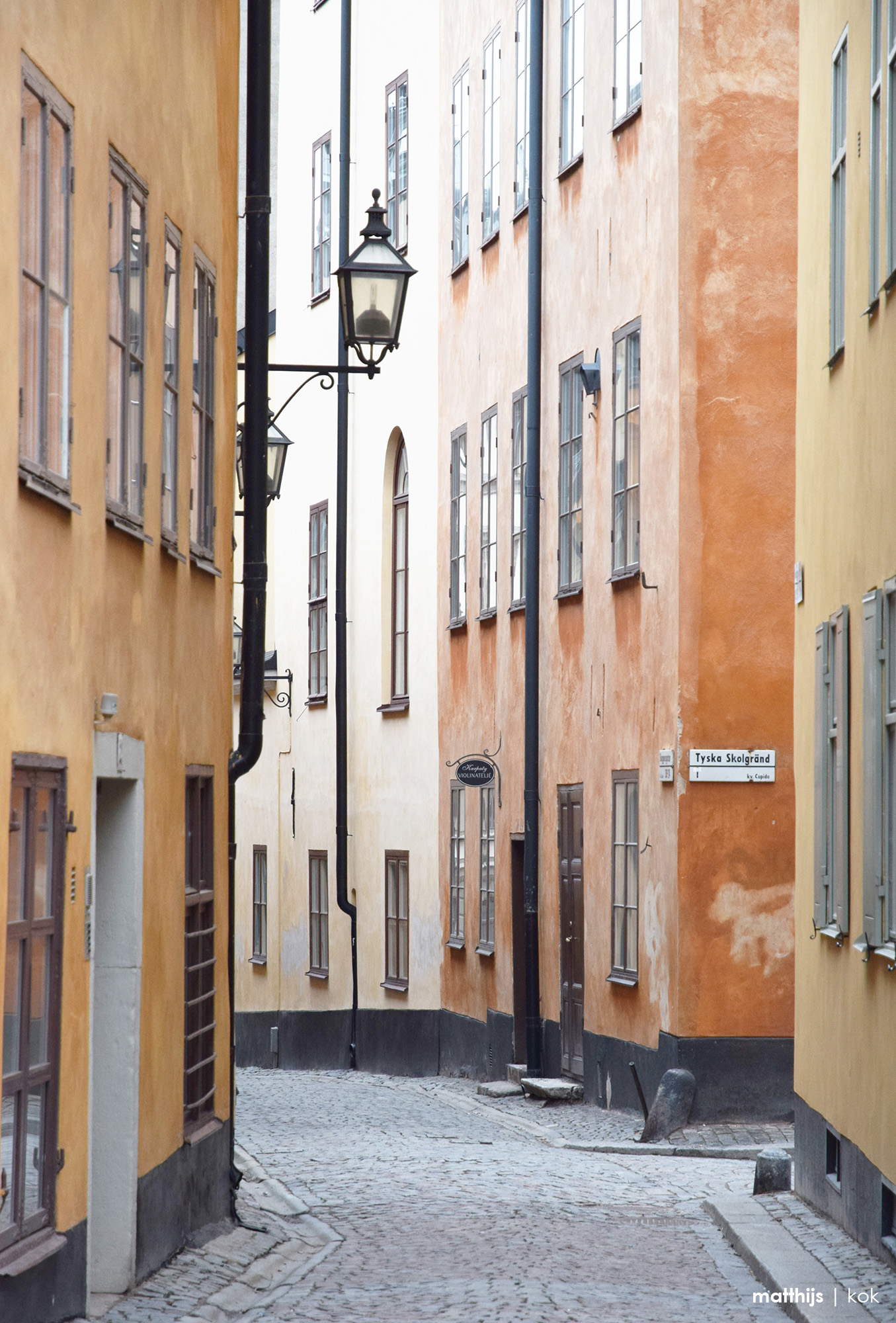 Picturesque Alleys of Gamla Stan, Stockholm, Sweden | Photo by Matthijs Kok