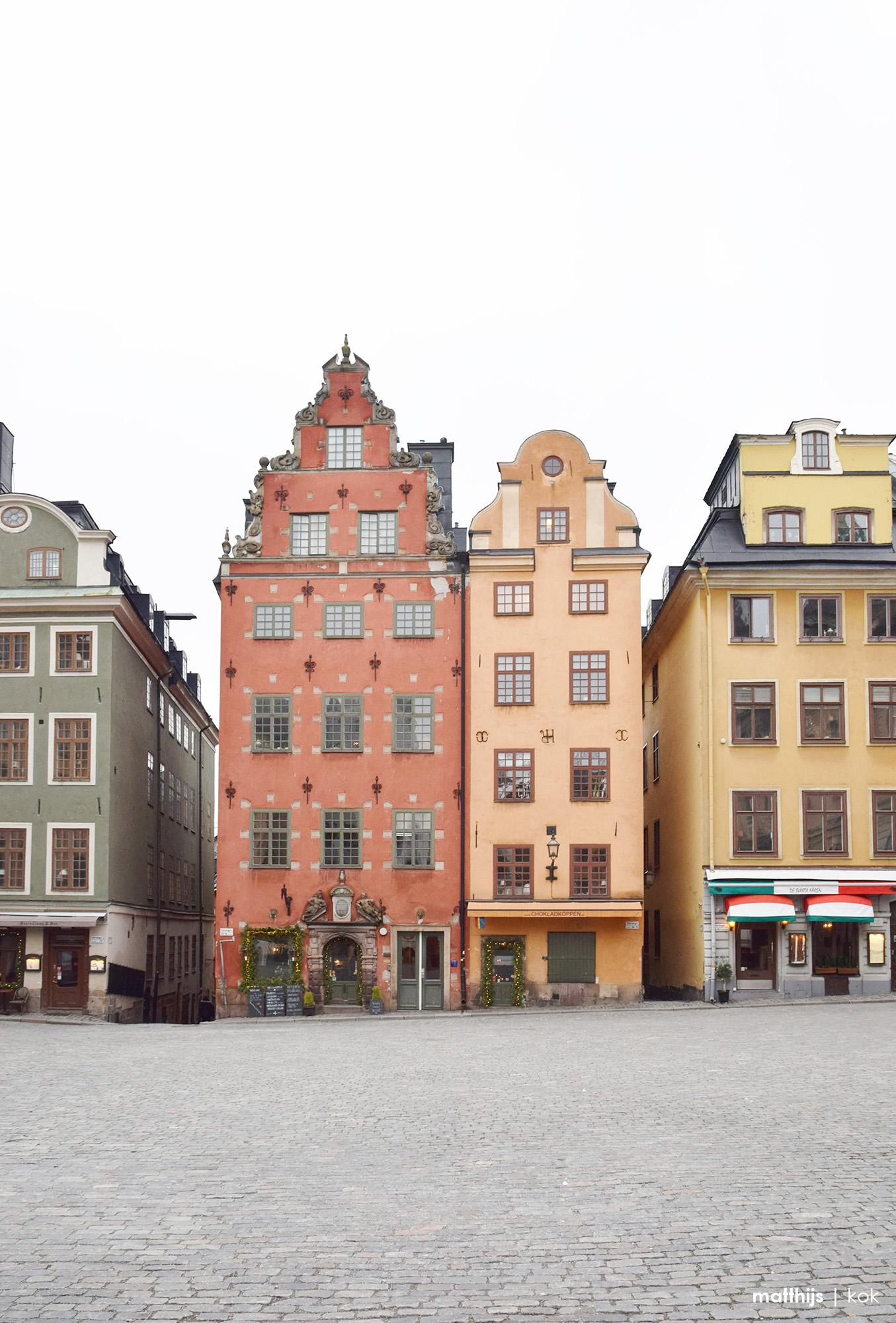 Stortorget, Gamla Stan, Stockholm, Sweden | Photo by Matthijs Kok