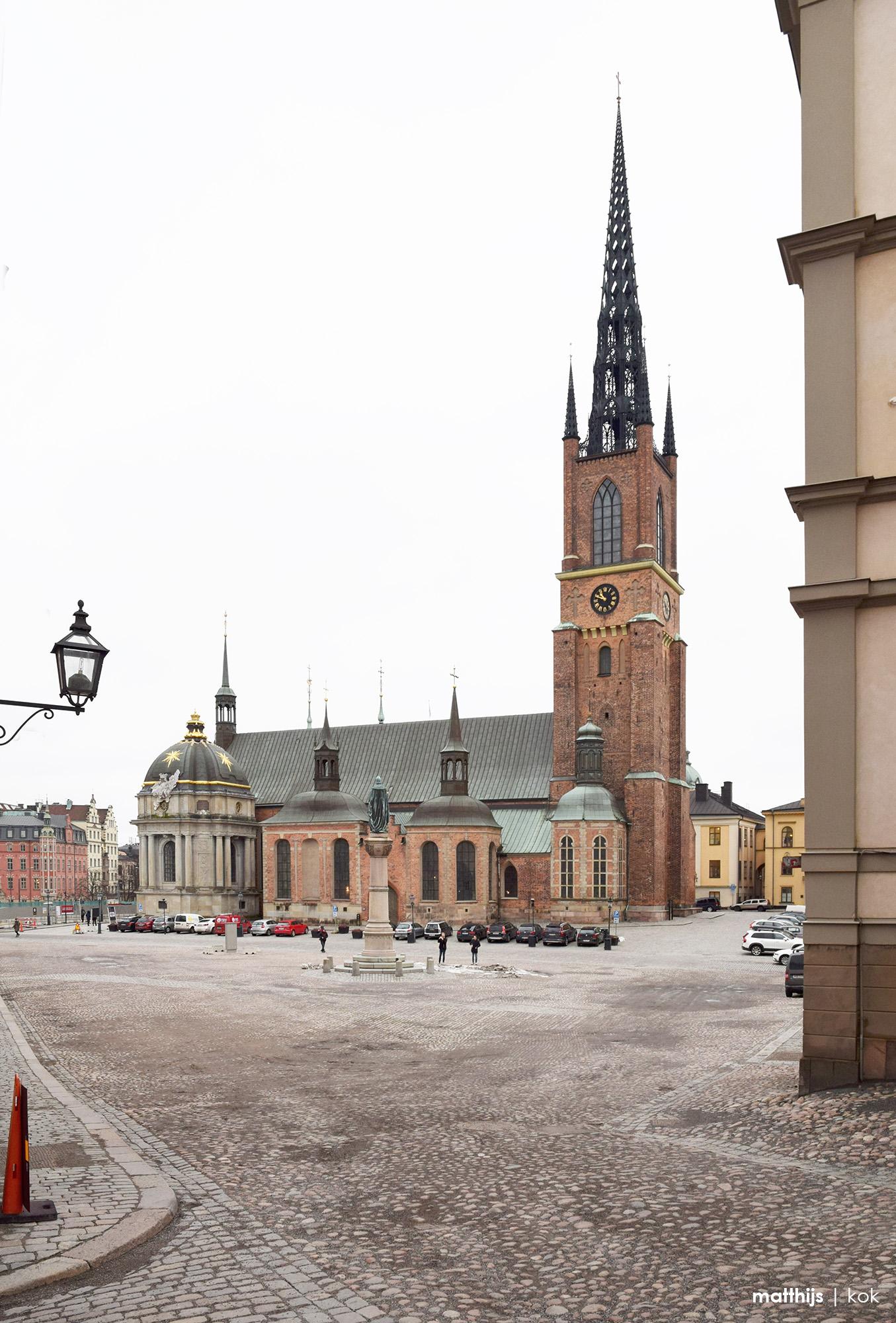 Riddarholmskyrkan, Stockholm, Sweden | Photo by Matthijs Kok