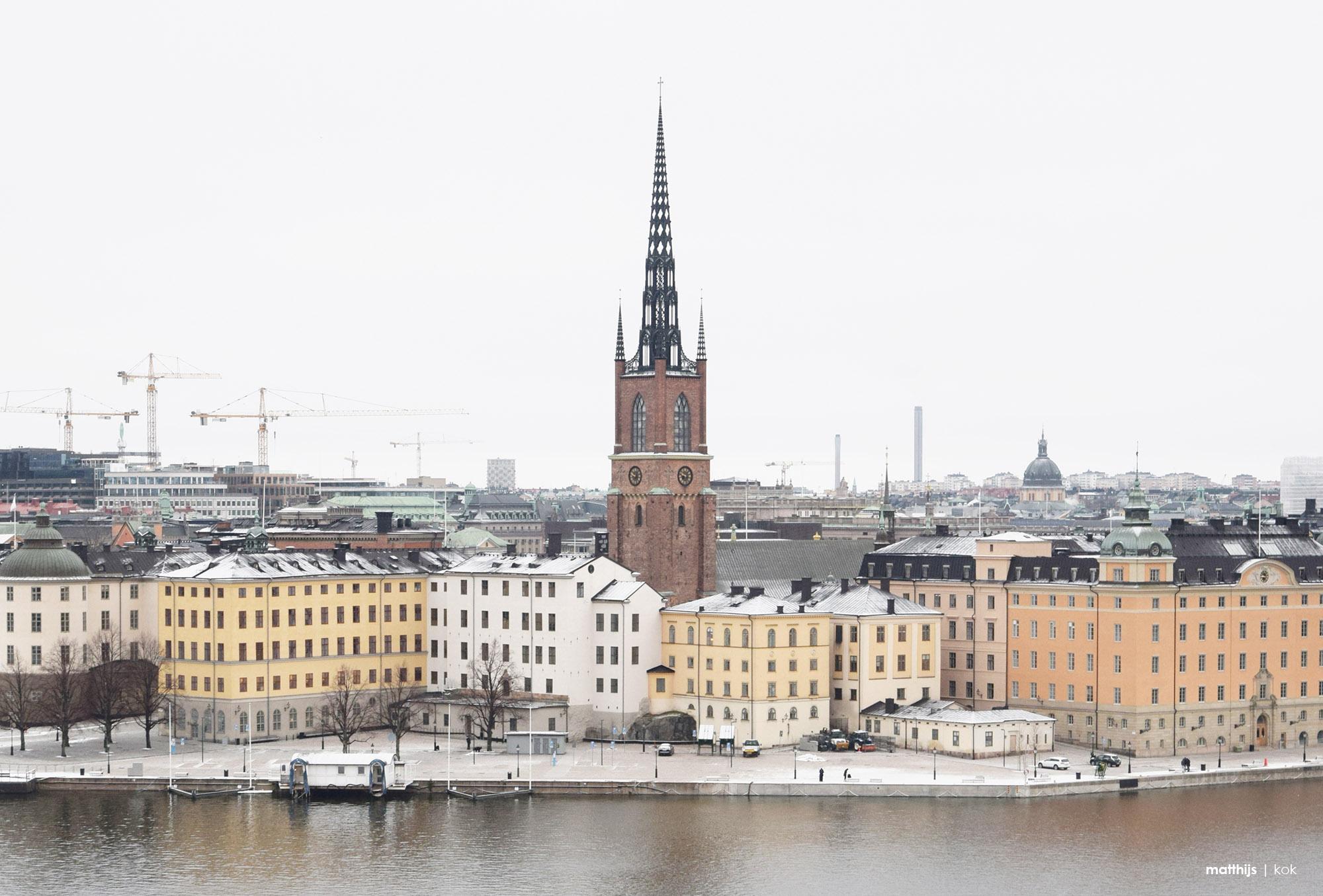 Monteliusvägen, Stockholm, Sweden | Photo by Matthijs Kok