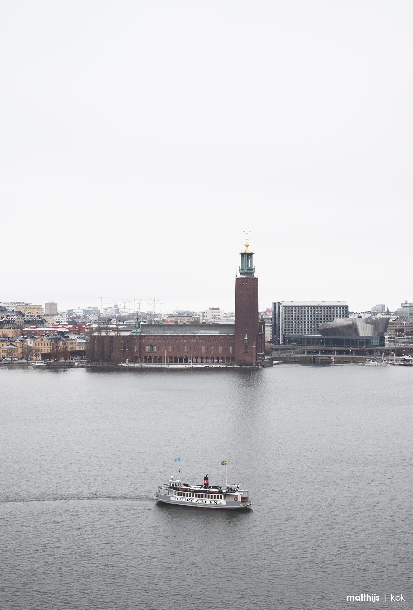 Stockholms Stadshus, Sweden | Photo by Matthijs Kok