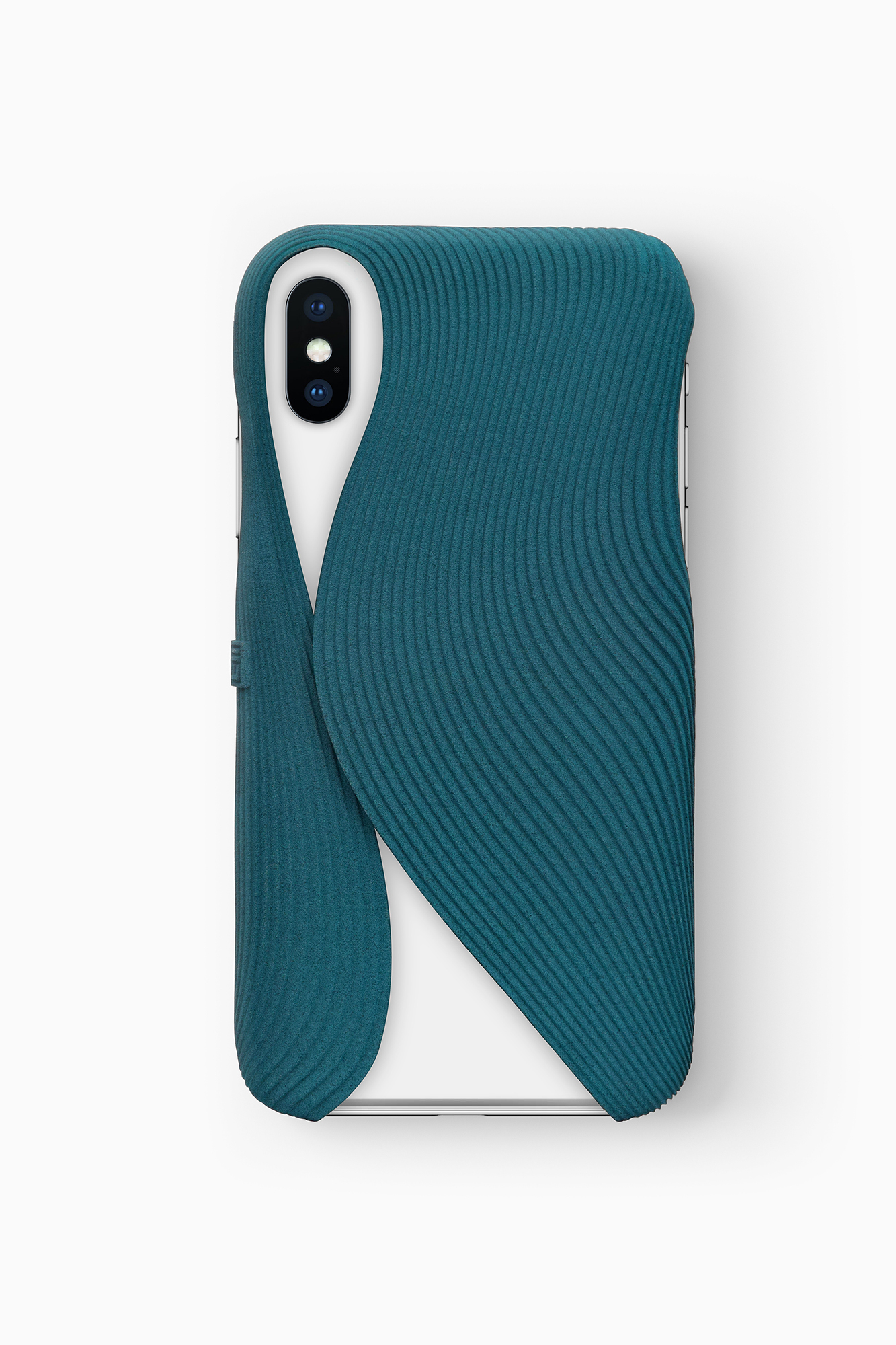 FOLD Case for iPhone X in Blue, Design by Matthijs Kok for Freshfiber