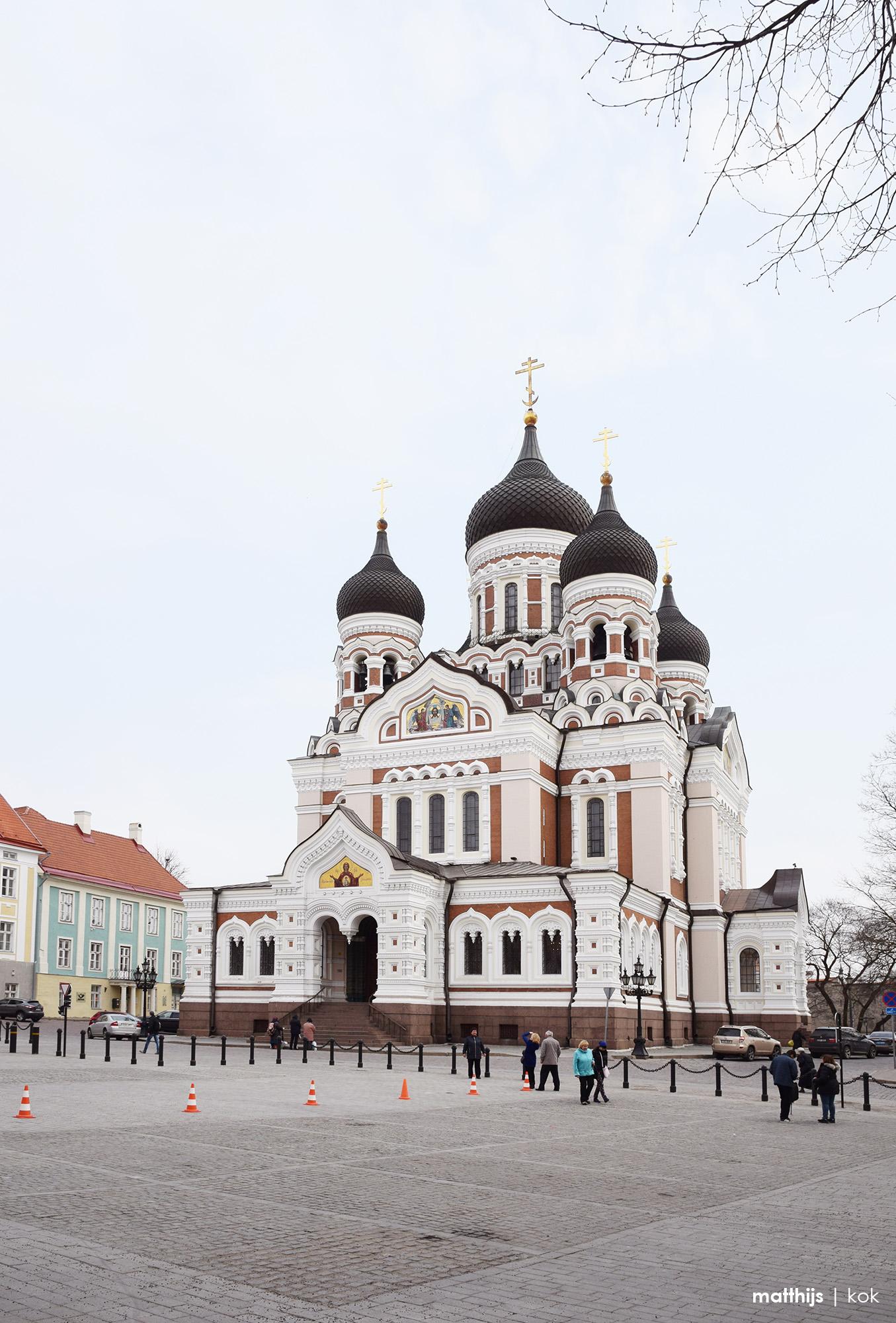 Alexander Nevsky Cathedral, Tallinn, Estonia   Photo by Matthijs Kok
