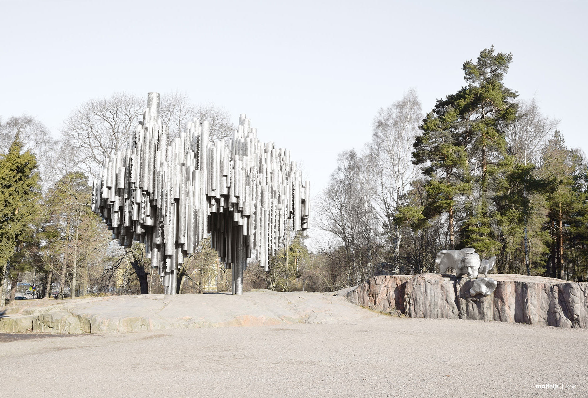 The Sibelius Monument by Eila Hiltunen, Helsinki, Finland | Photo by Matthijs Kok