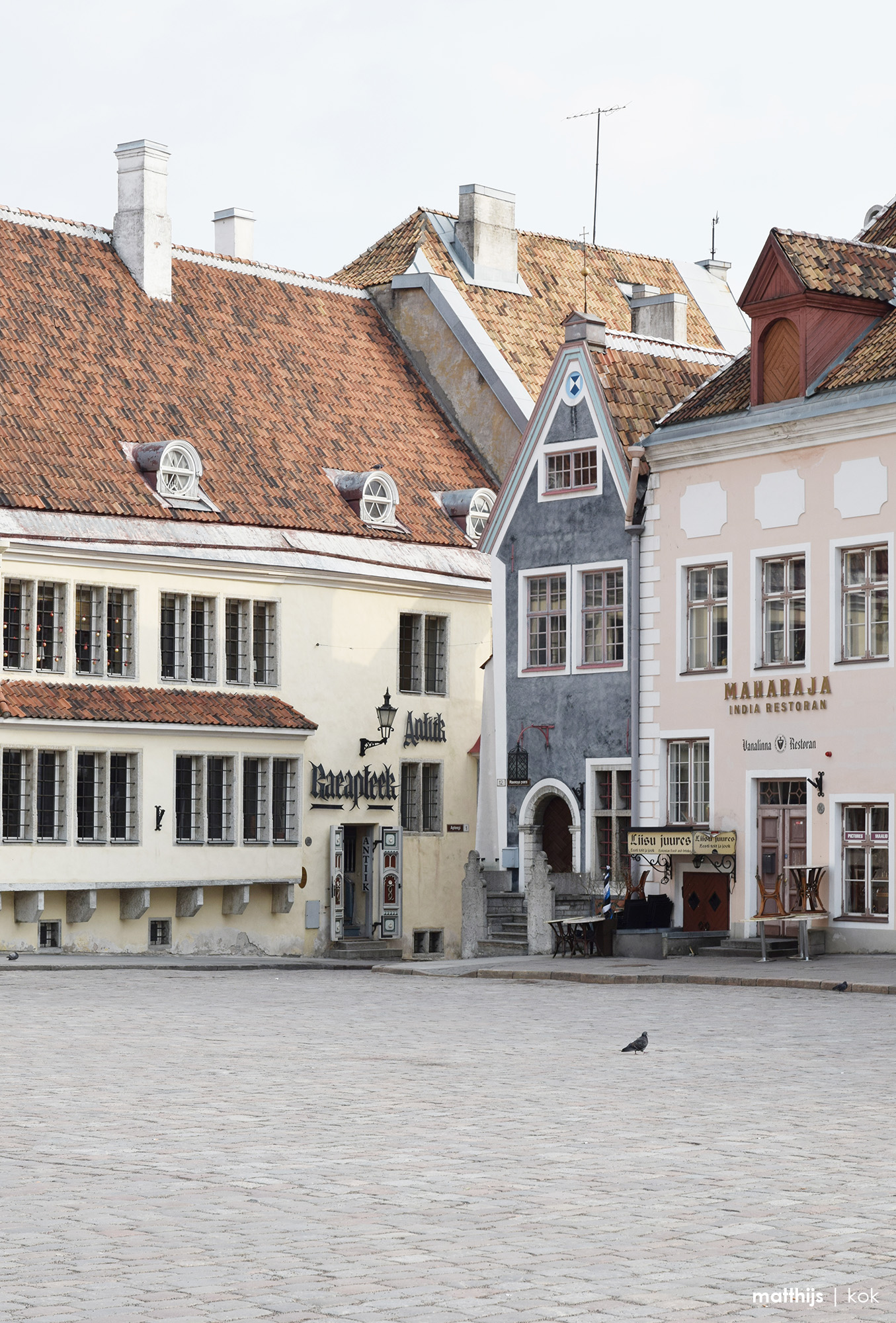 Raekoja Plats (Town Hall Square), Tallinn, Estonia | Photo by Matthijs Kok
