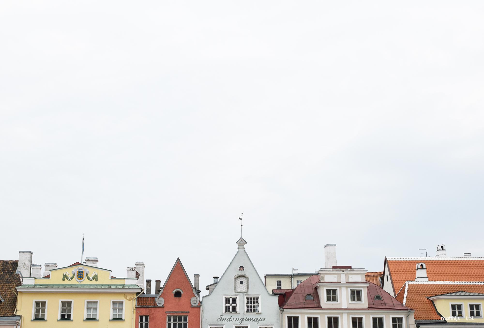 Tallinn Rooftops, Estonia   Photo by Matthijs Kok