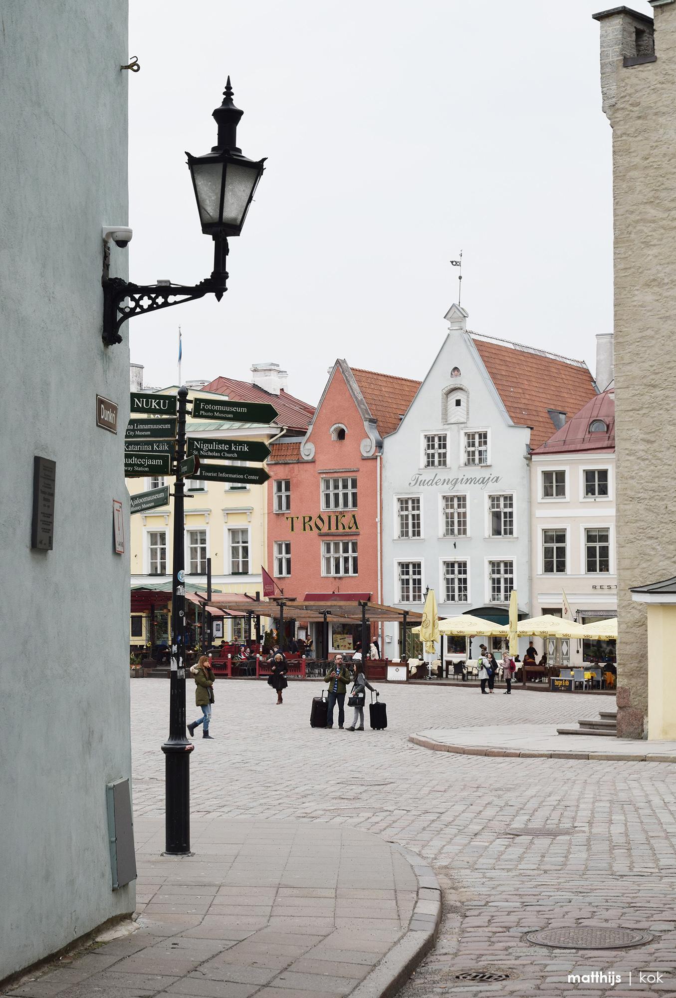Raekoja plats, Tallinn Estonia   Photo by Matthijs Kok