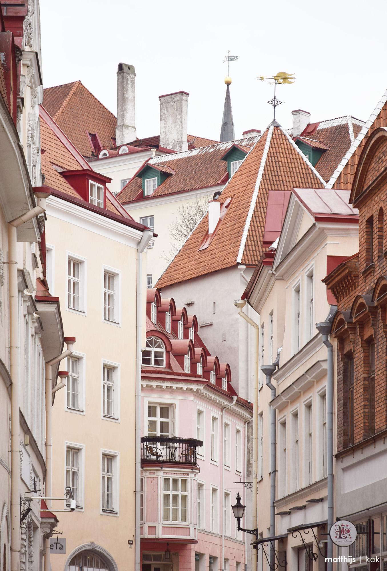 Roofs of Tallinn, Estonia   Photo by Matthijs Kok