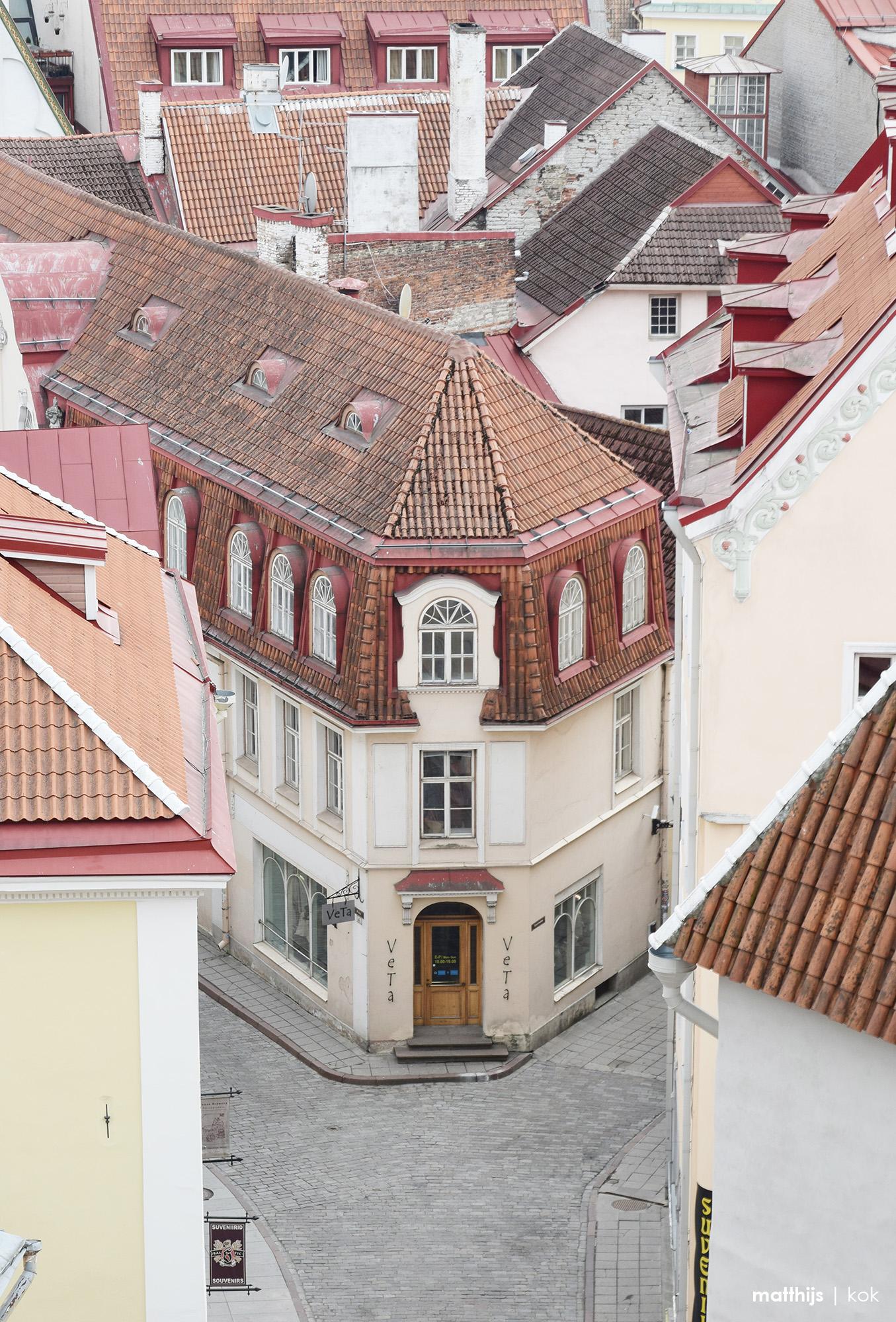 Narrow Street in the old Town of Tallinn, Estonia   Photo by Matthijs Kok