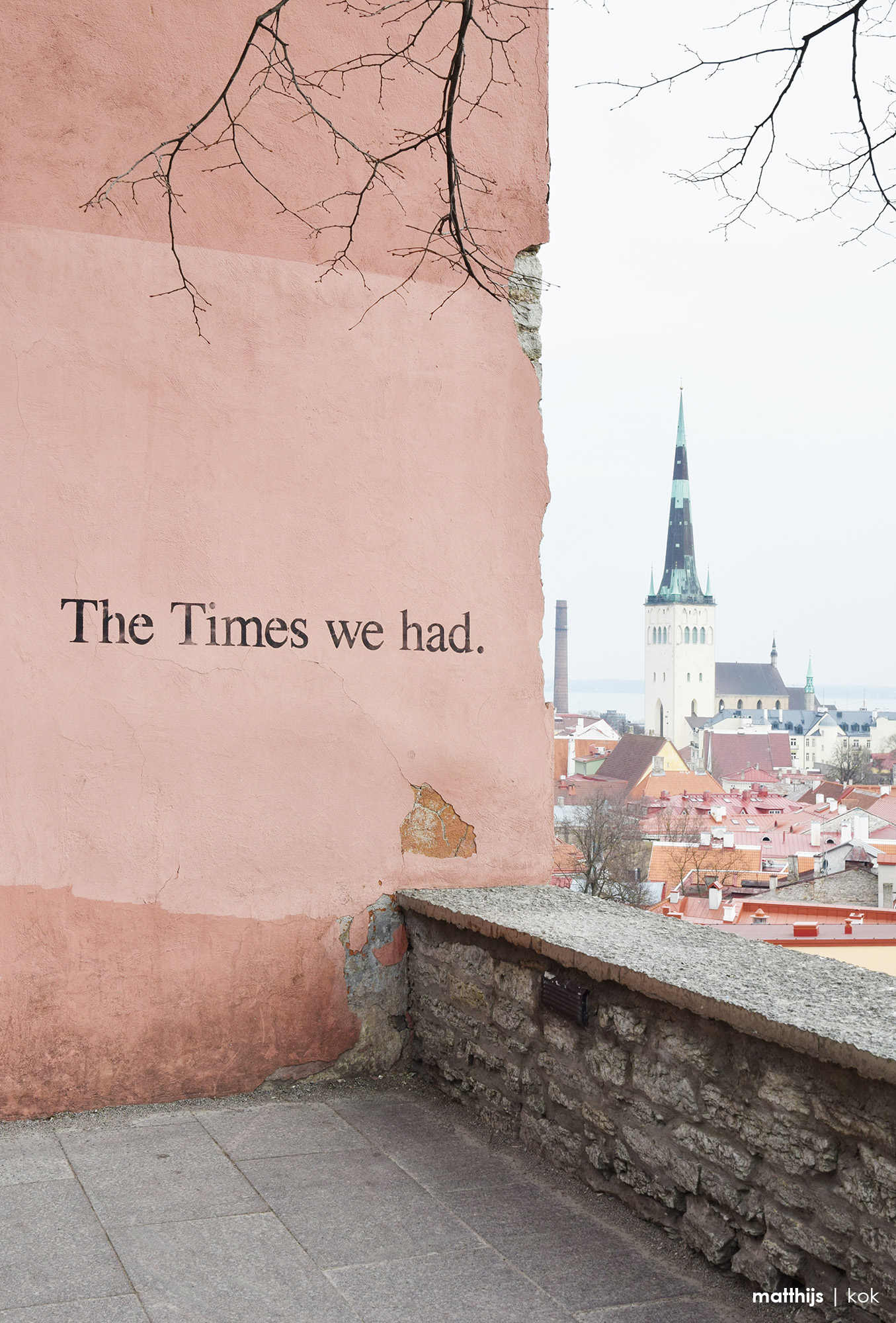 The Times we had, Kohtuotsa Platform, Tallinn Estonia | Photo by Matthijs Kok