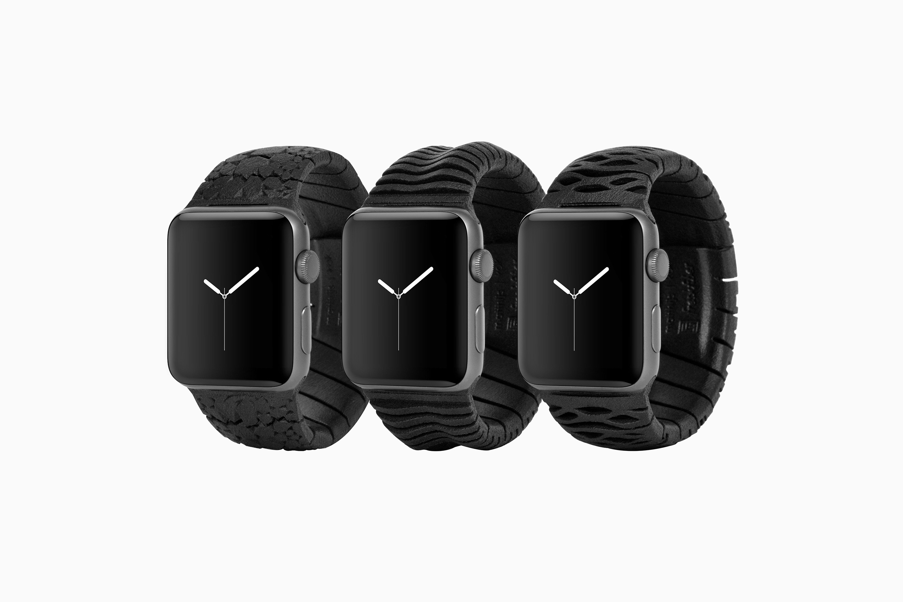 Freshfiber Apple Watch Bands, Design by Matthijs Kok for Freshfiber