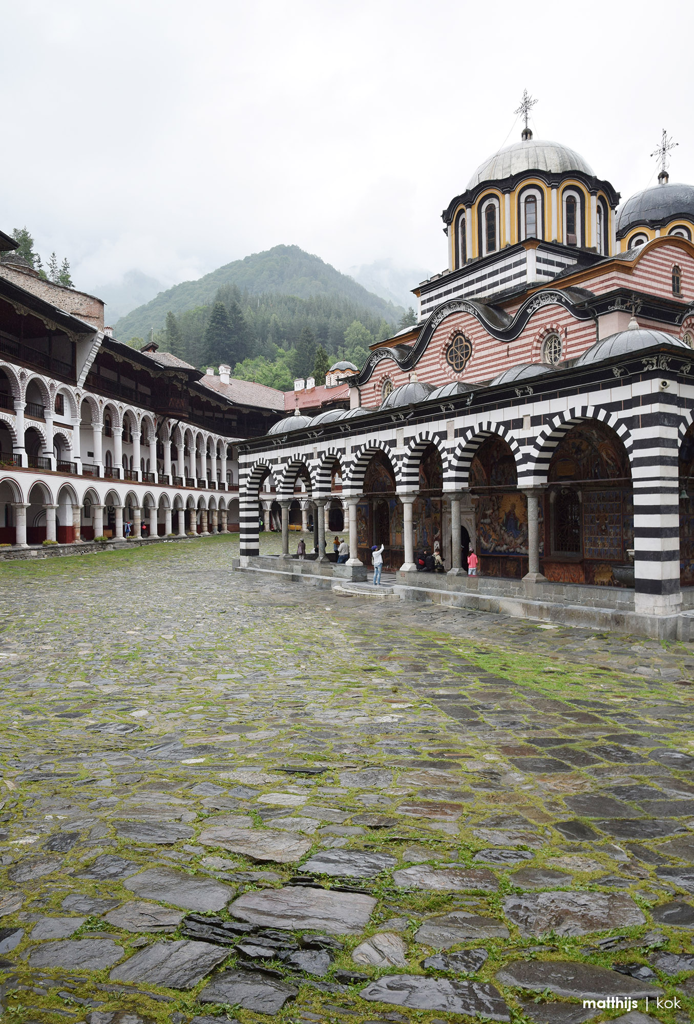 Rila Monastery, Bulgaria | Photo by Matthijs Kok