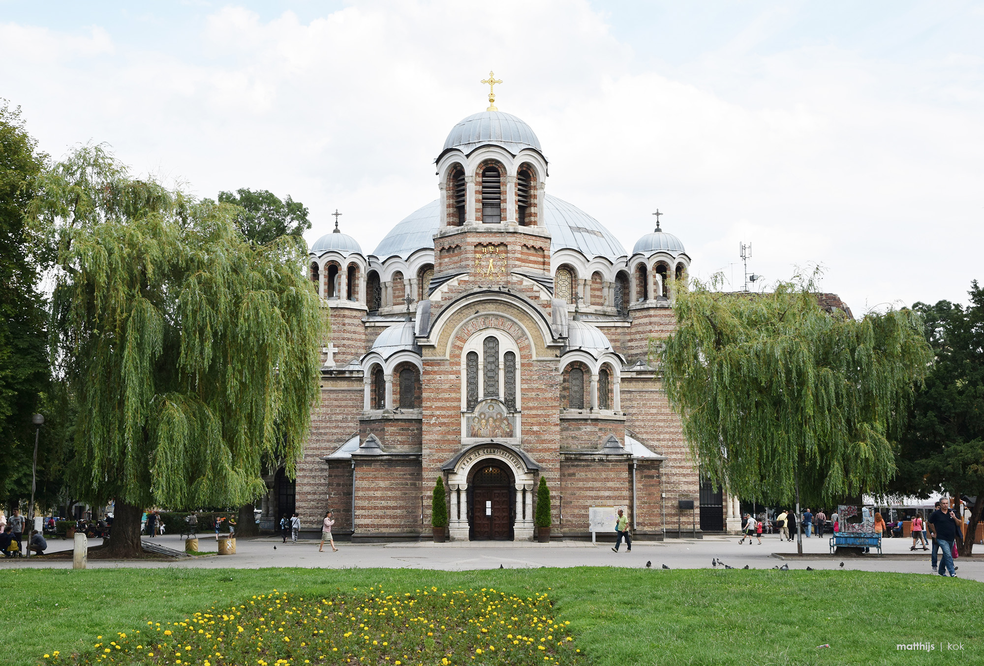 Church of Sveti Sedmochislenitsi, Sofia, Bulgaria | Photo by Matthijs Kok