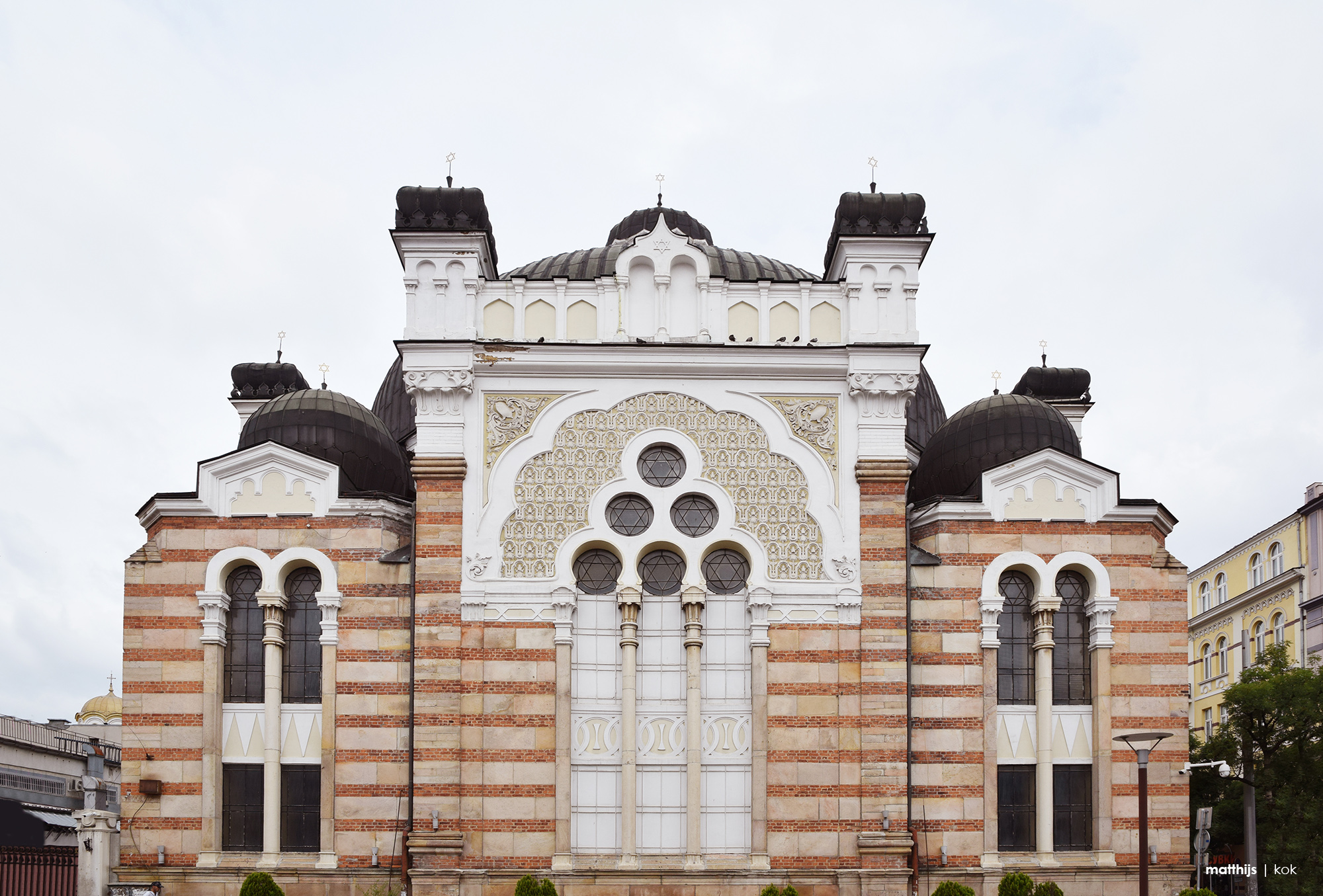Synagogue, Sofia, Bulgaria | Photo by Matthijs Kok