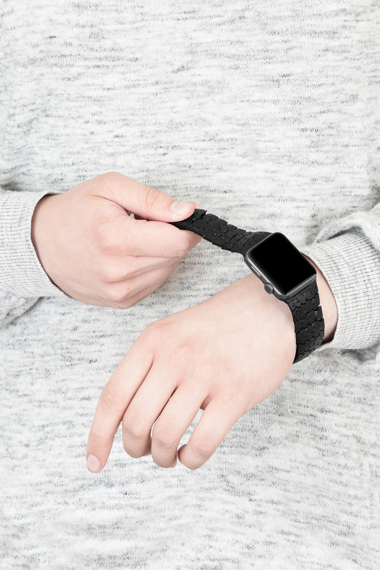 Flexibility | Freshfiber Apple Watch Bands, Design by Matthijs Kok for Freshfiber