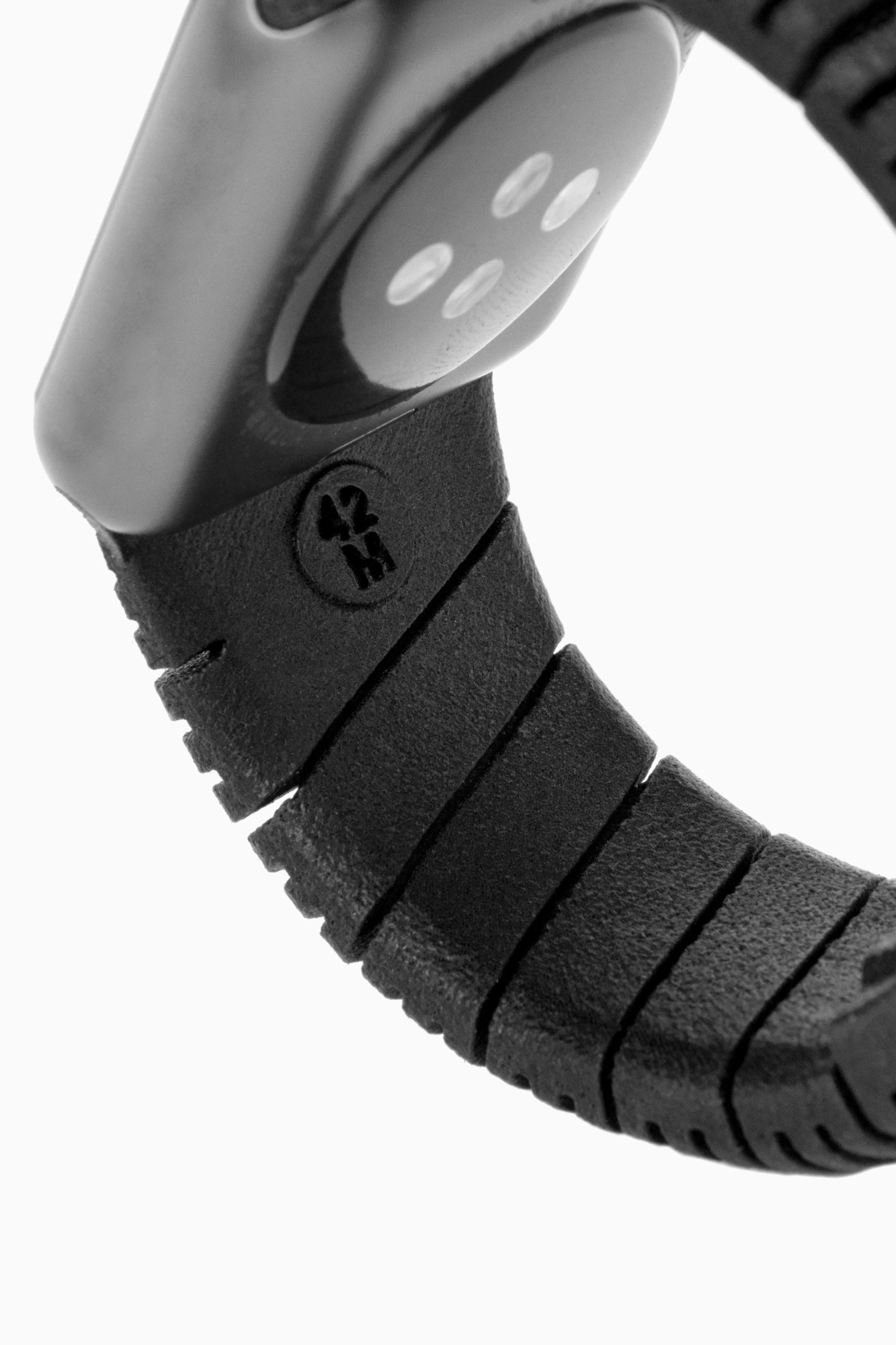 Wristband Detail | Freshfiber Apple Watch Bands, Design by Matthijs Kok for Freshfiber