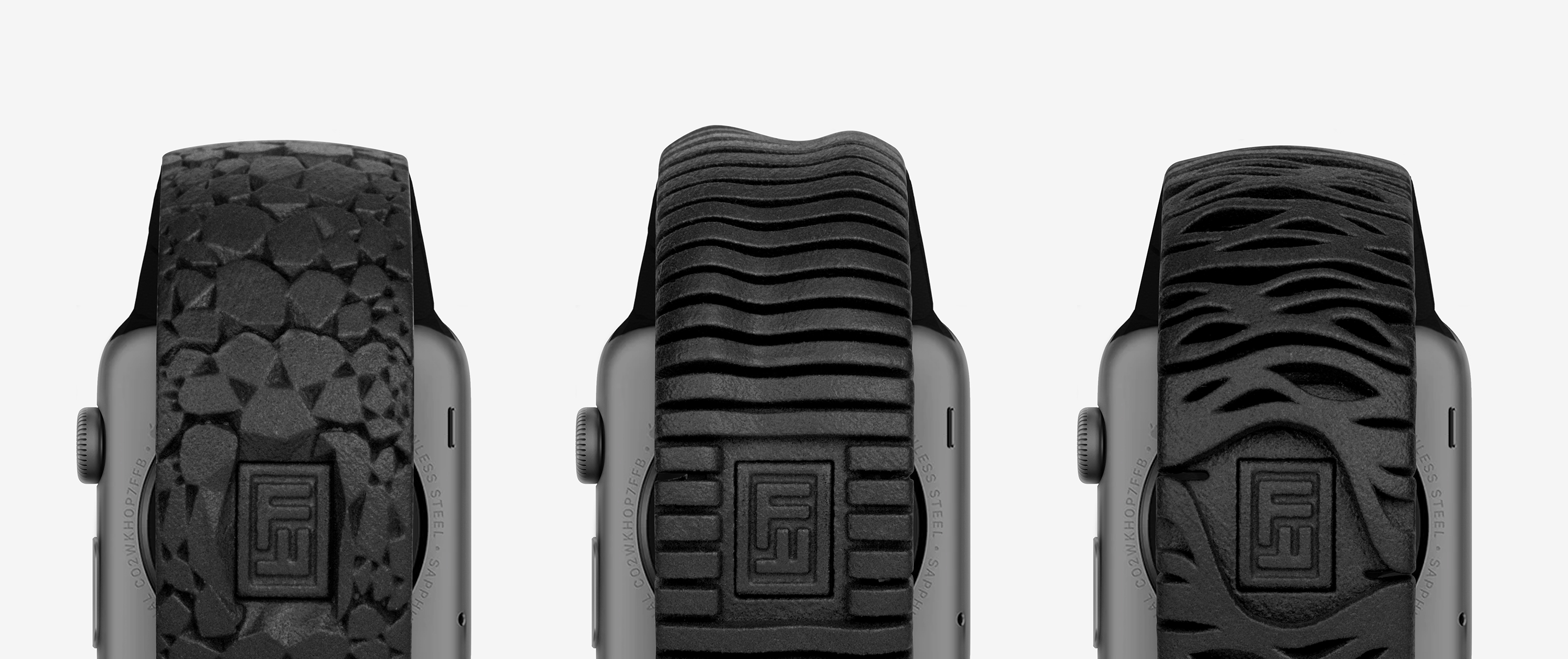 Freshfiber 3D Printed Apple Watch Bands, Design by Matthijs Kok for Freshfiber