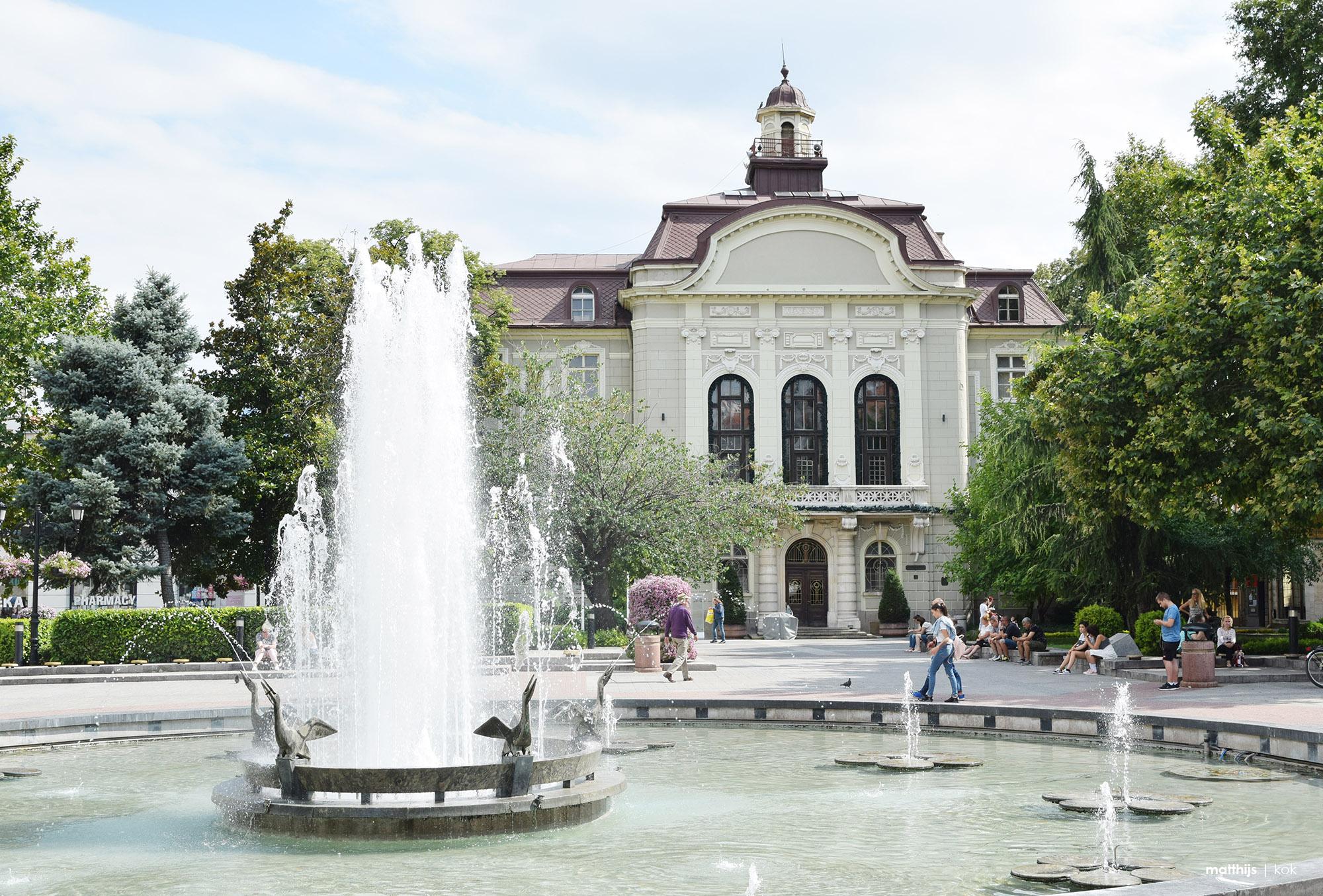 Plovdiv Municipality, Stefan Stambolov square, Plovdiv, Bulgaria | Photo by Matthijs Kok