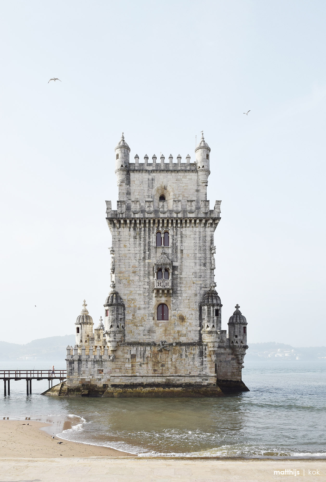 Torre de Belém, Lisbon, Portugal | Photo by Matthijs Kok