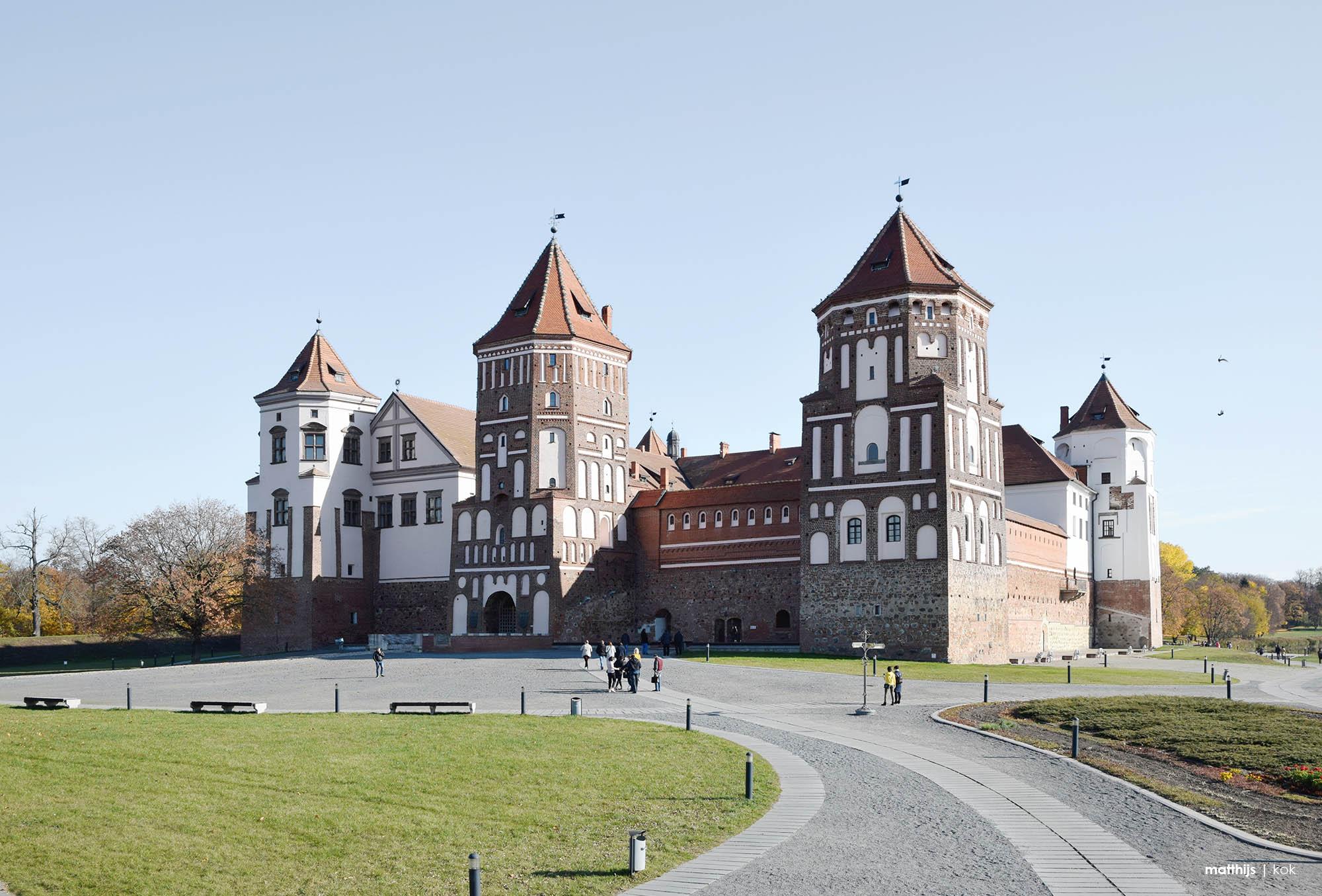 Mir Castle, Mir, Belarus | Photo by Matthijs Kok