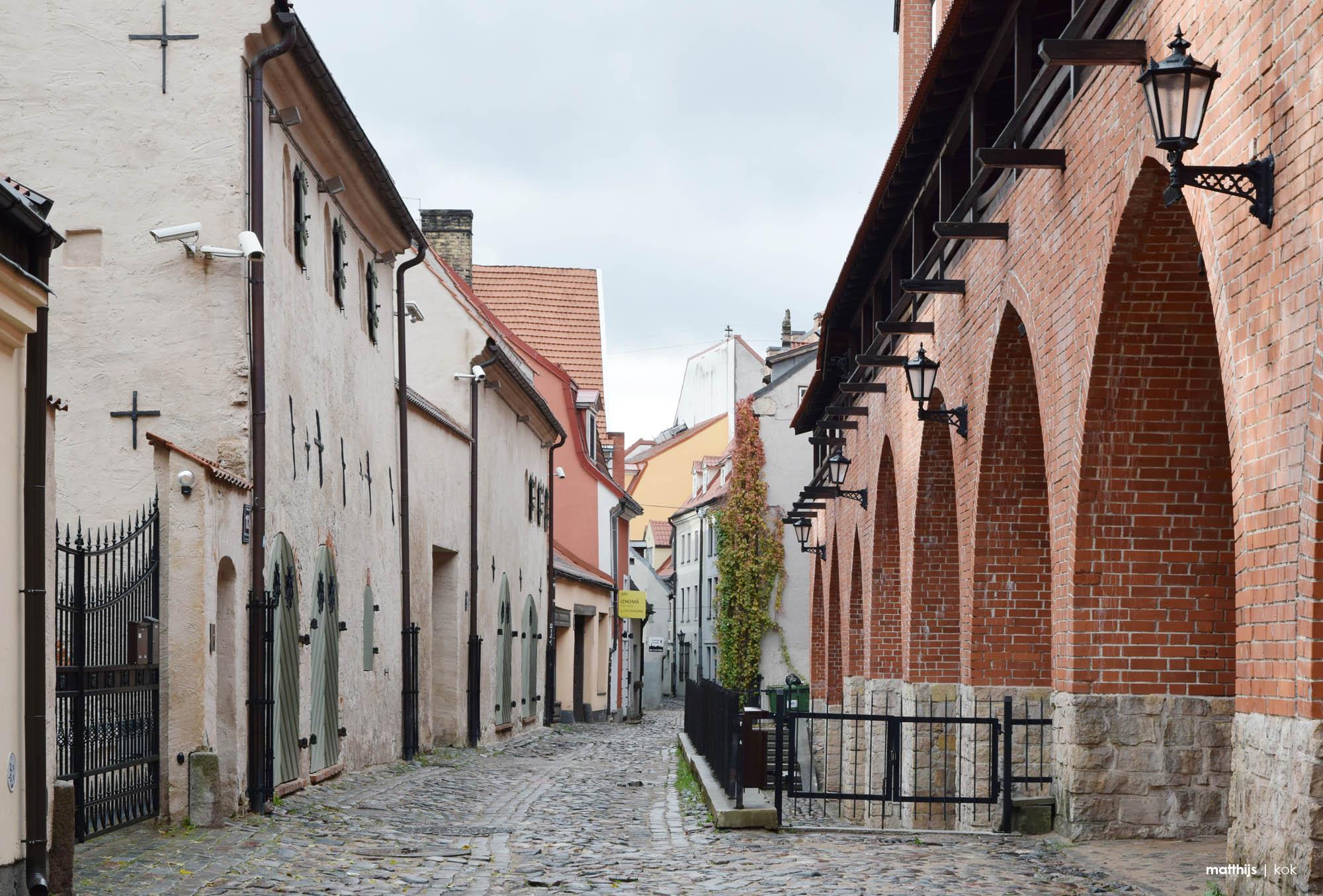 Cobblestone Streets of Riga Old Town, Latvia   Photo by Matthijs Kok