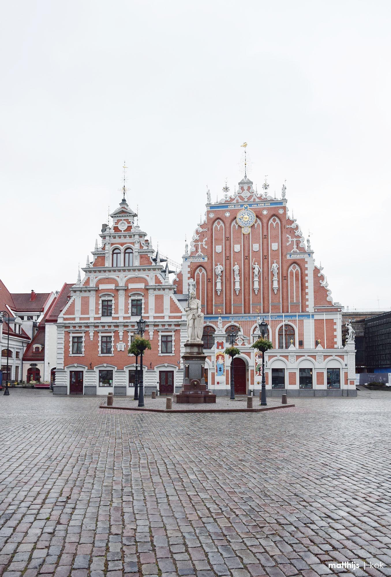 House of the Blackheads, Riga, Latvia   Photo by Matthijs Kok