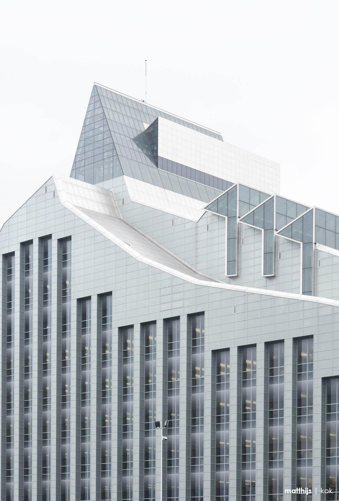 National Library of Latvia, Riga, Latvia   Photo by Matthijs Kok