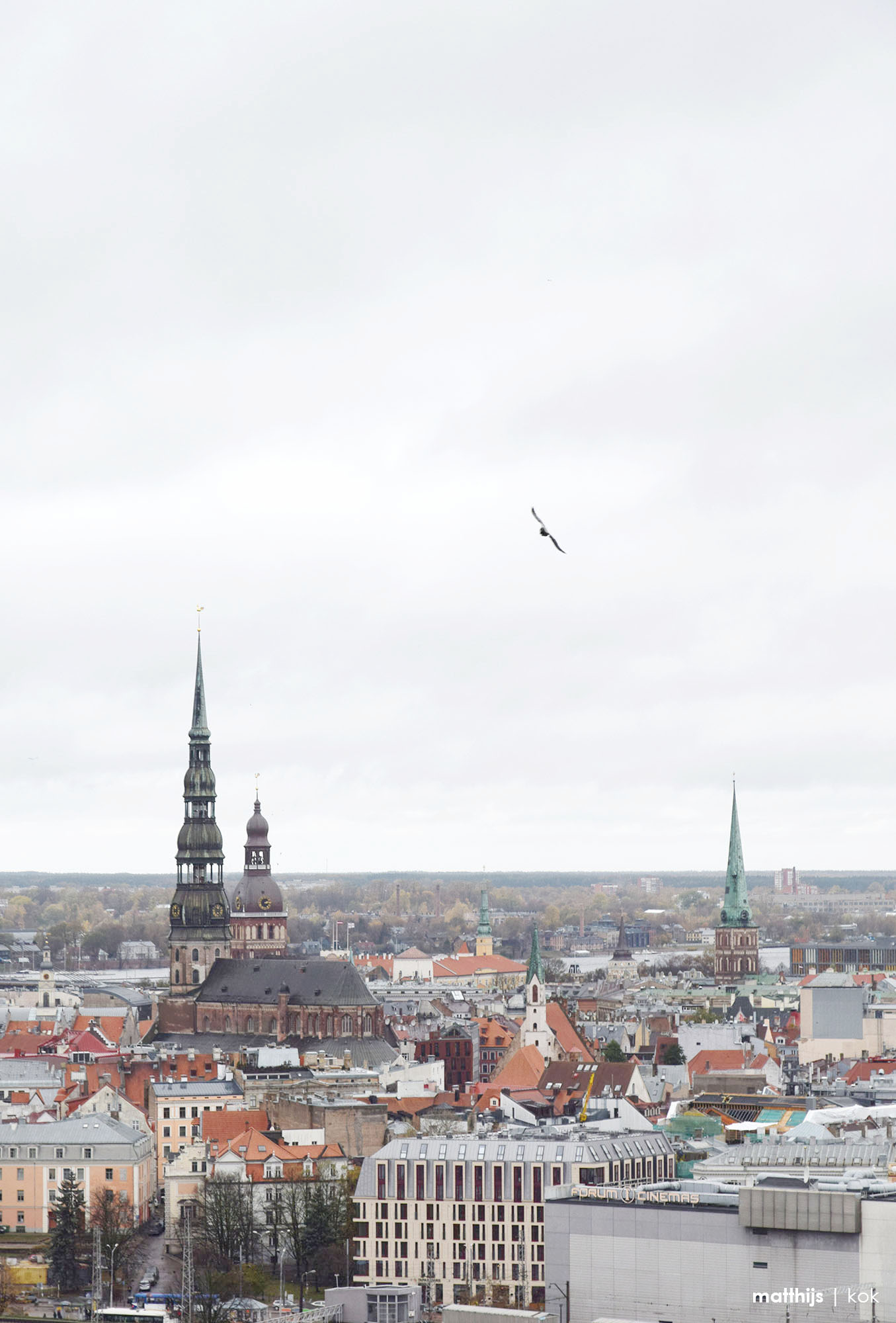 View from the Latvian Academy of Sciences, Latvia   Photo by Matthijs Kok