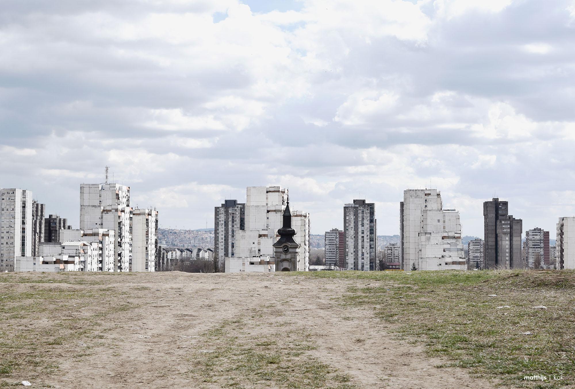 Novi Beograd, Belgrade, Serbia   Photo by Matthijs Kok
