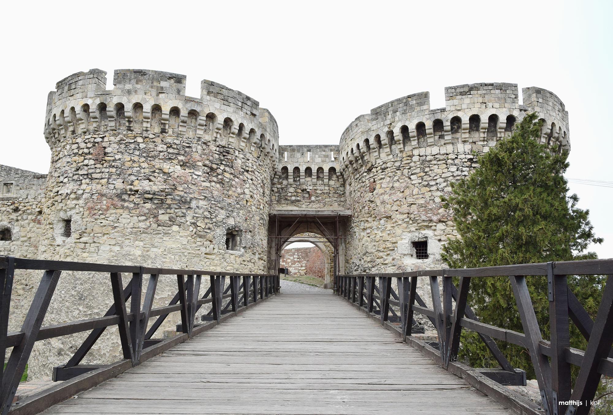 Kalemegdan Fortress, Belgrade, Serbia   Photo by Matthijs Kok