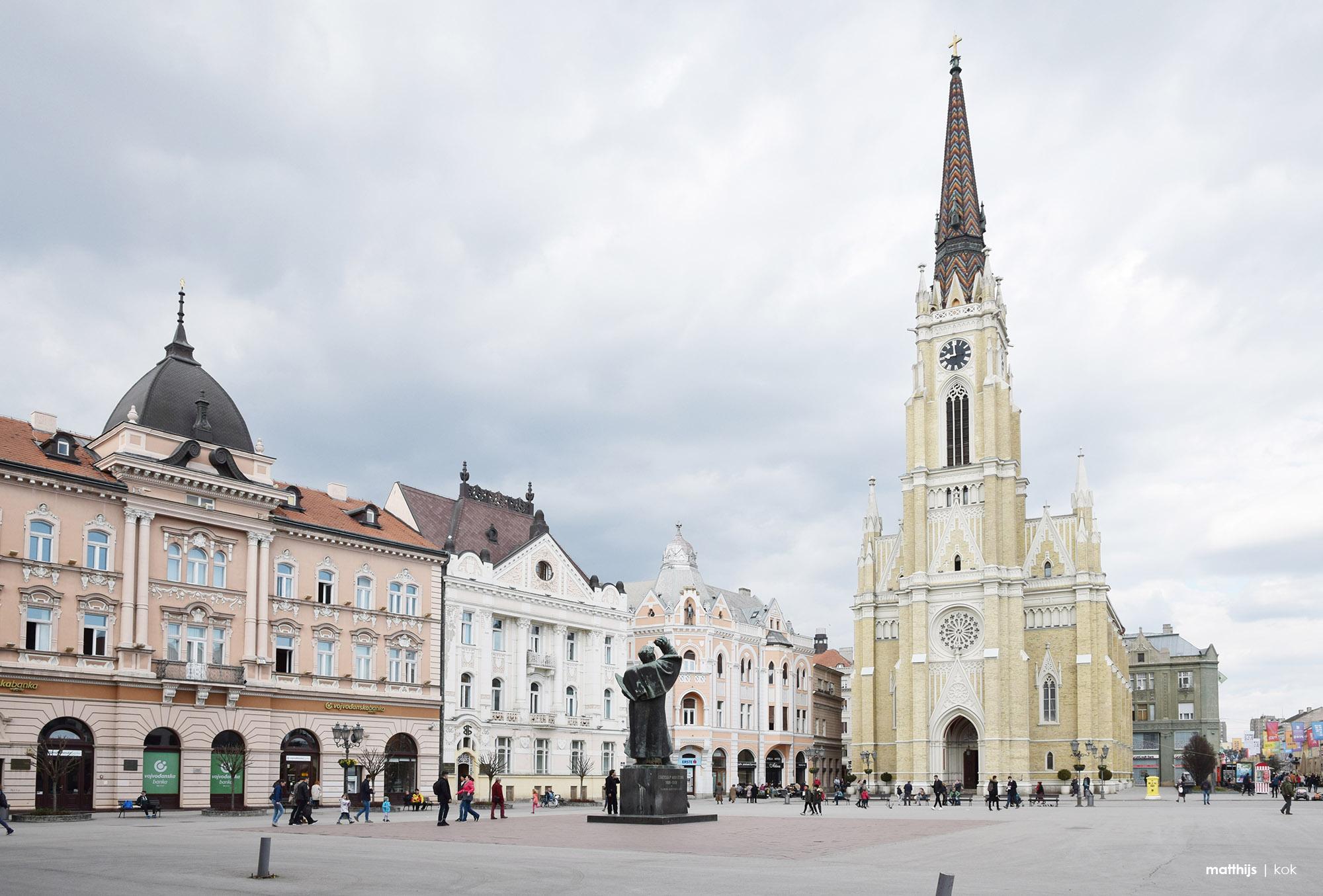 Liberty Square, Novi Sad, Serbia   Photo by Matthijs Kok