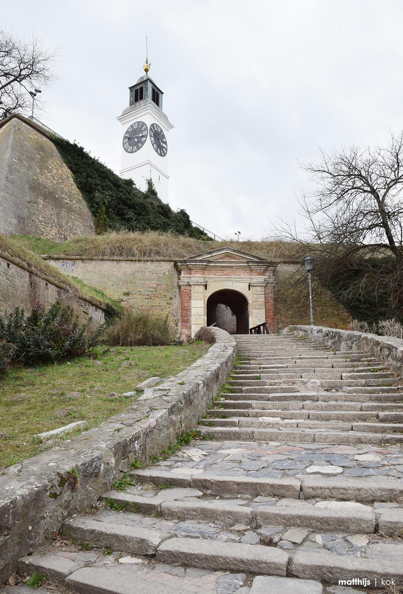 Petrovaradin Fortress, Novi Sad, Serbia   Photo by Matthijs Kok