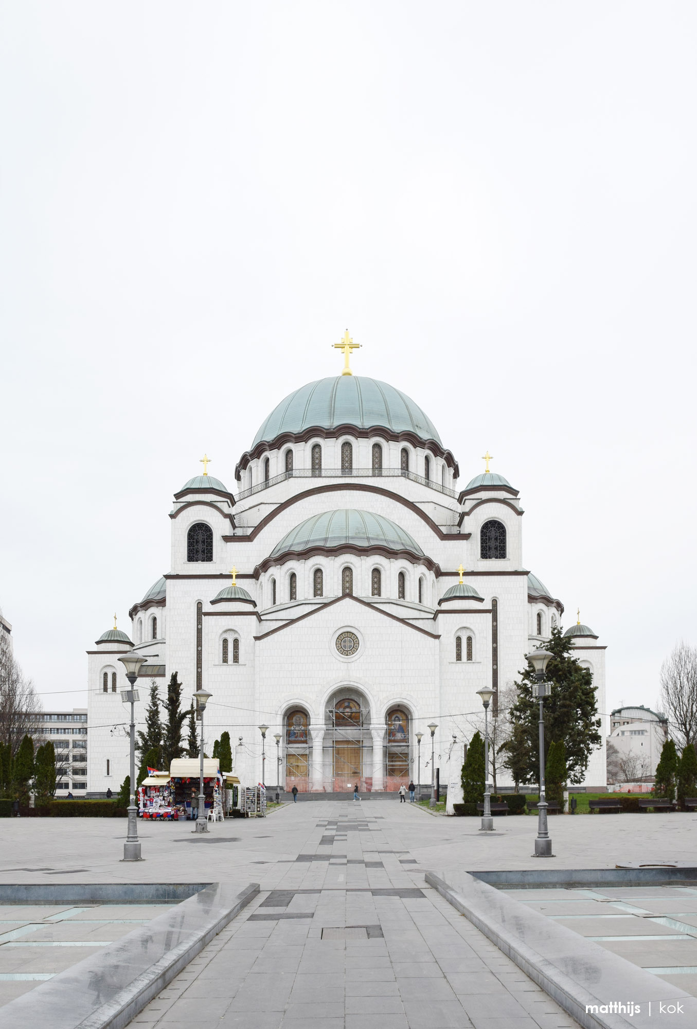St. Sava Temple, Belgrade, Serbia   Photo by Matthijs Kok