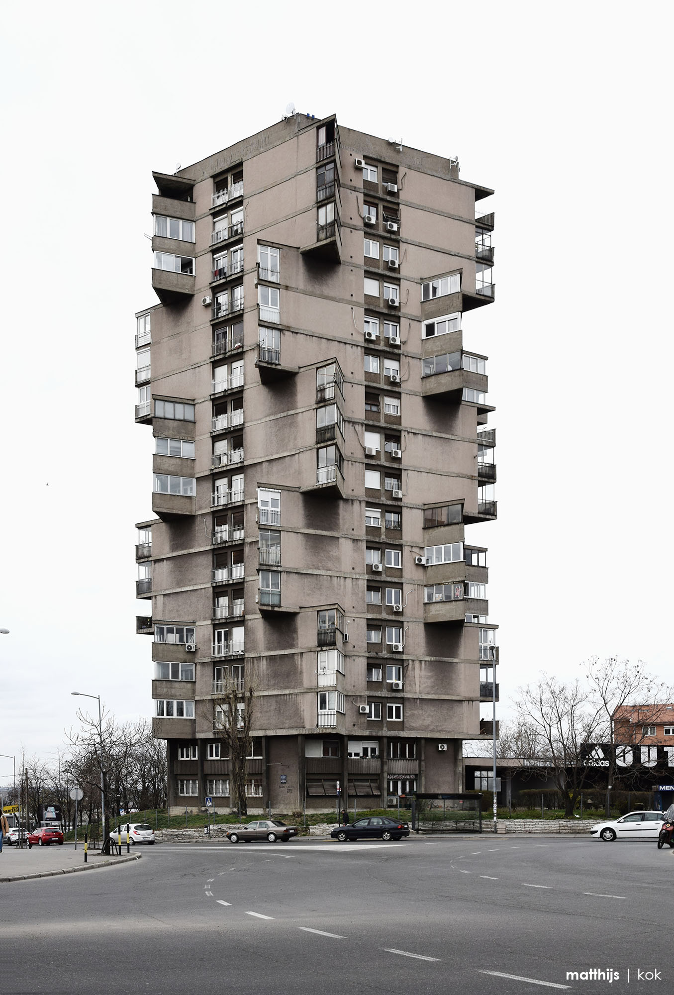 Karaburma Housing Tower | Toblerone Building, Belgrade, Serbia | Photo by Matthijs Kok