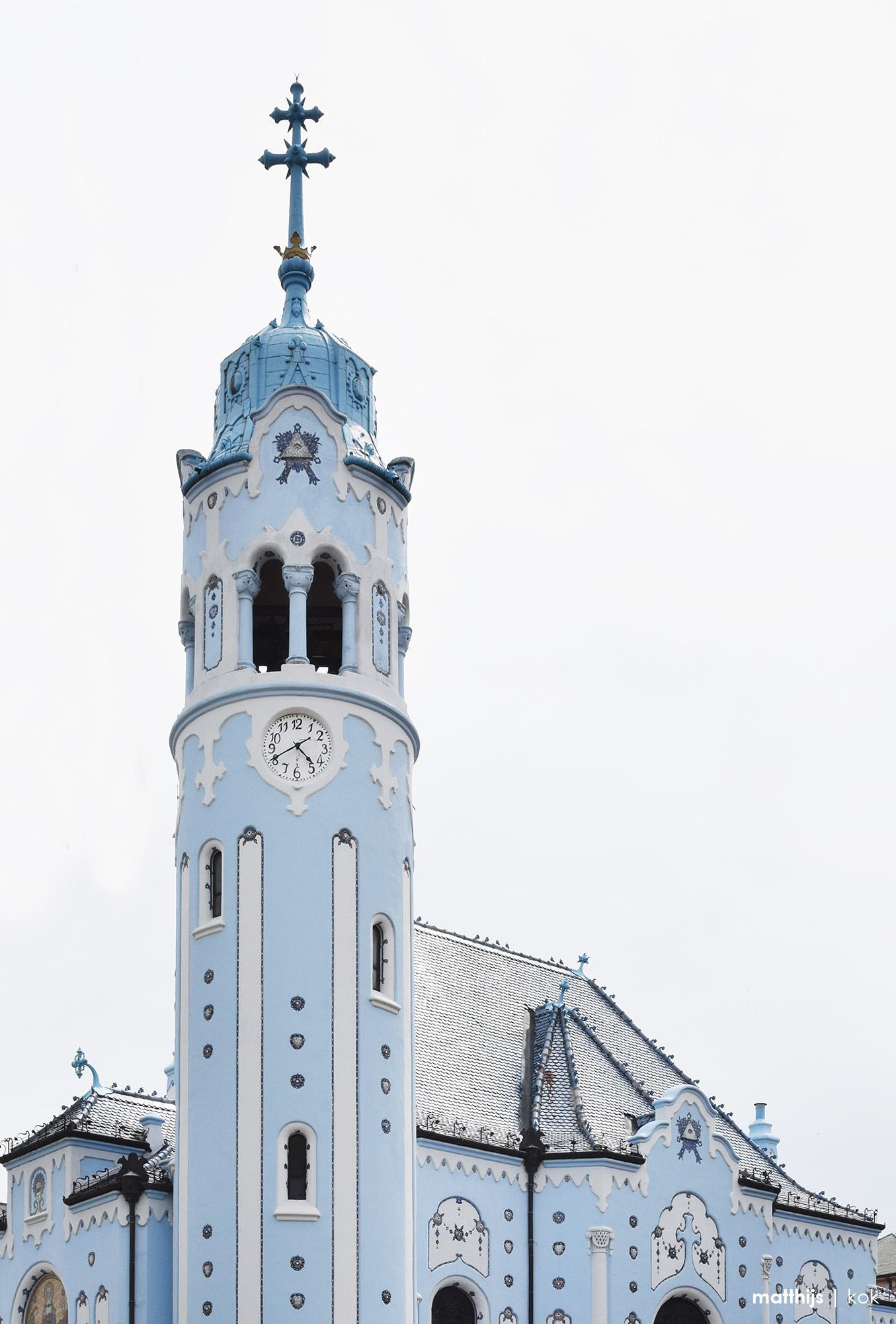 Blue Church, Bratislava, Slovakia | Photo by Matthijs Kok
