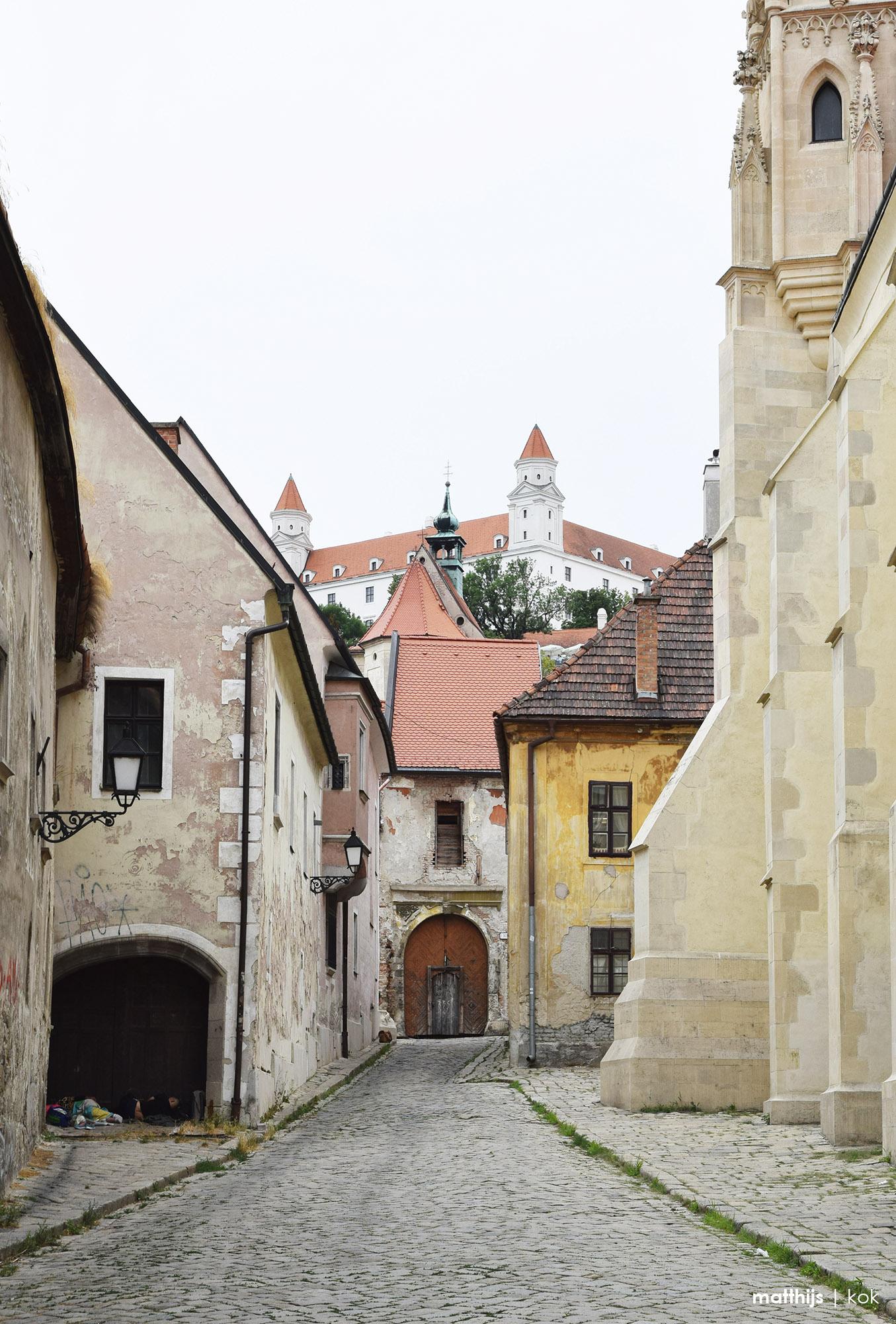 Farská Street, Bratislava, Slovakia | Photo by Matthijs Kok