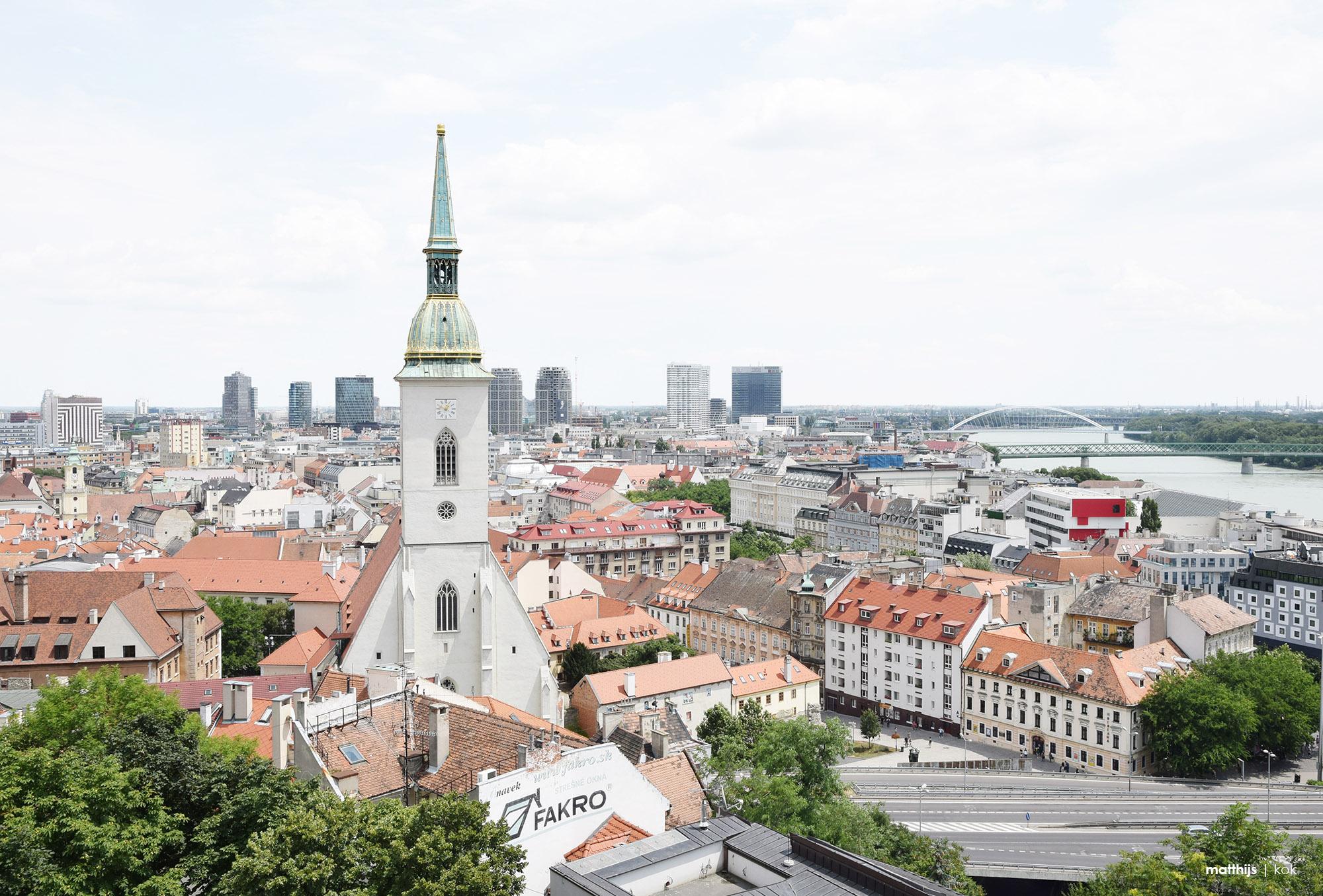 Bratislava Old Town, Slovakia | Photo by Matthijs Kok