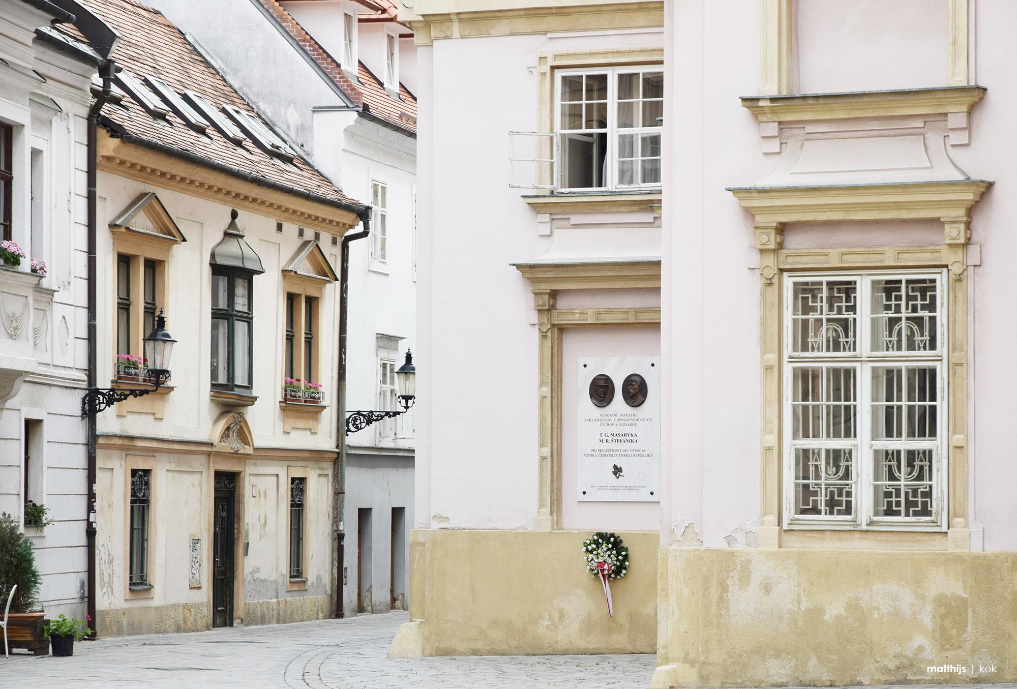 Bratislava Old Town Streets, Slovakia | Photo by Matthijs Kok